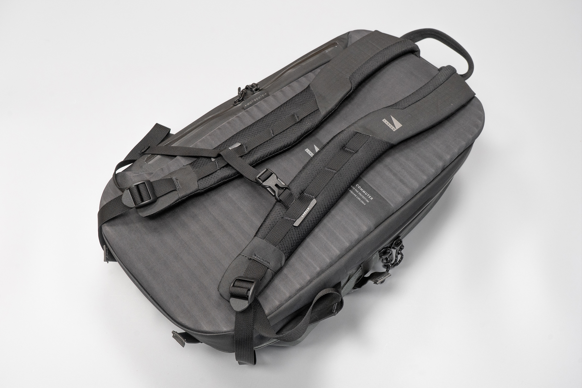 Lander Commuter Backpack 25L | Thick padding on the straps and back panel equal a comfortable carry as well