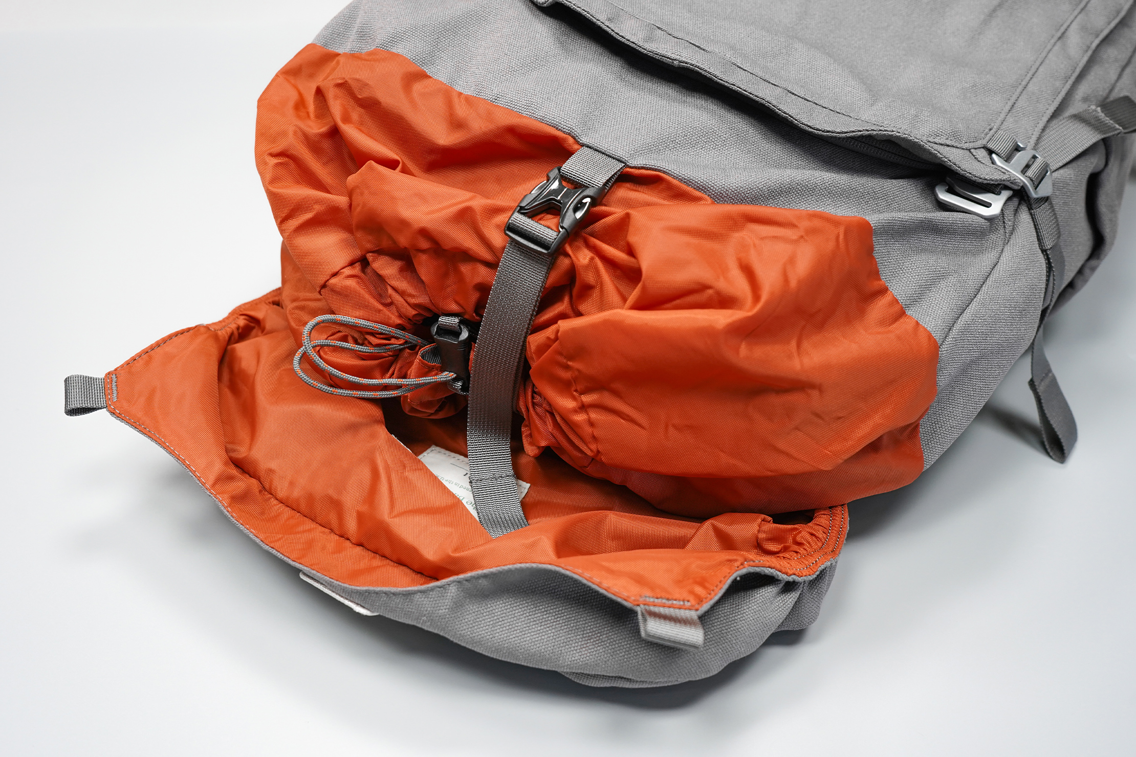 Salkan Backpacker | Under the flap, there's a drawstring and buckle for extra security