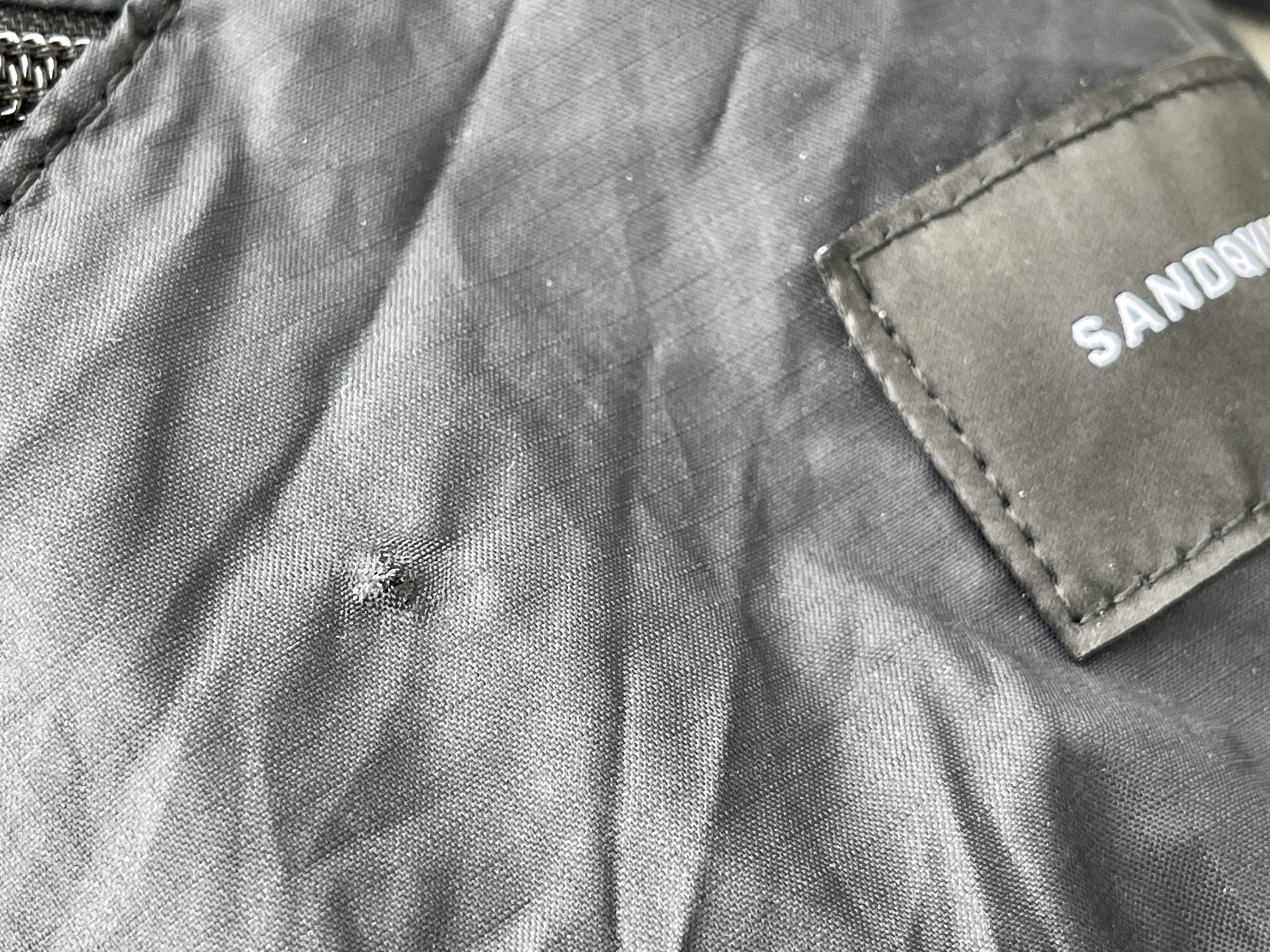 Sandqvist Erland Backpack Review | Small Hole in Nylon