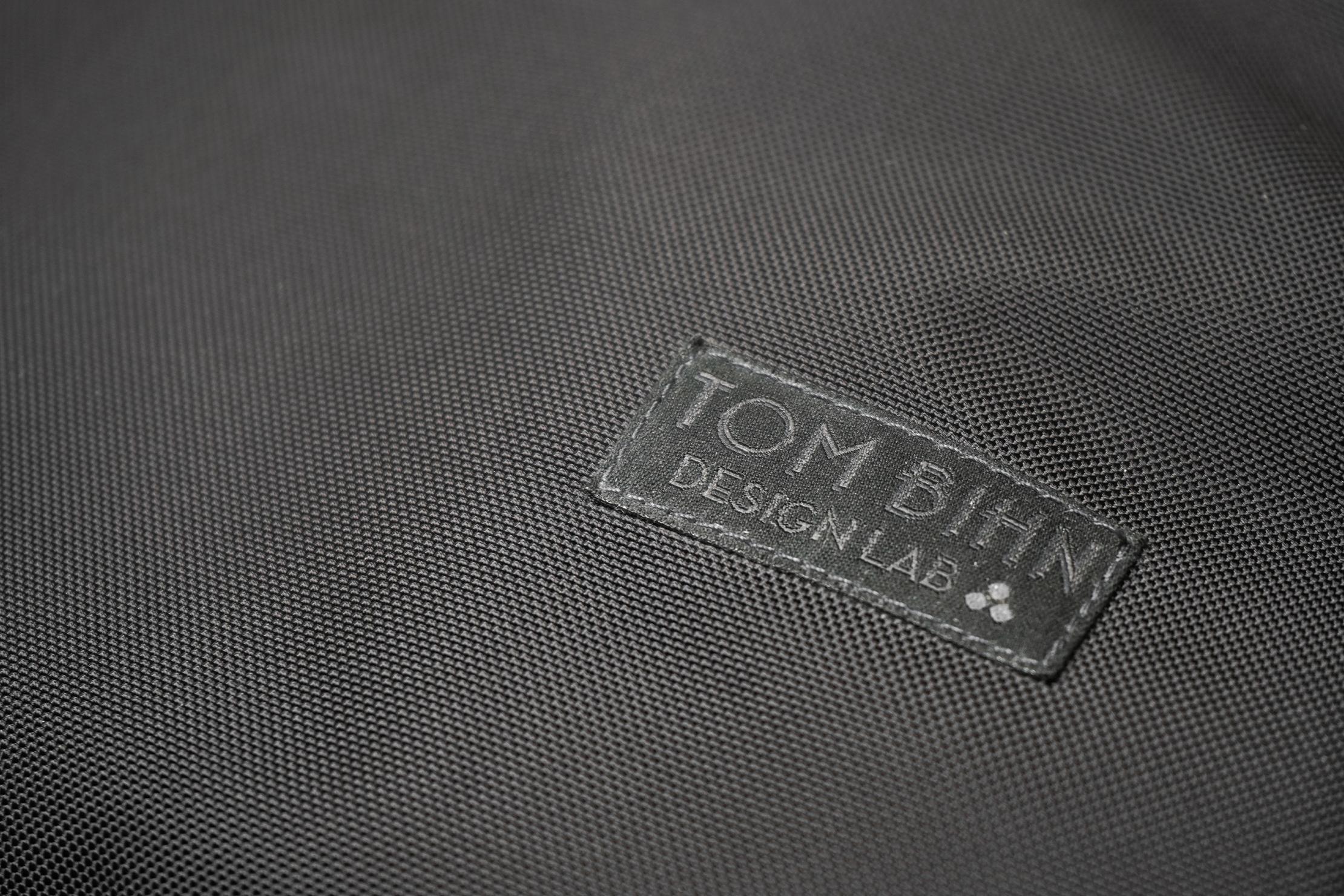 Tom Bihn Paragon Backpack | Design Lab logo & material