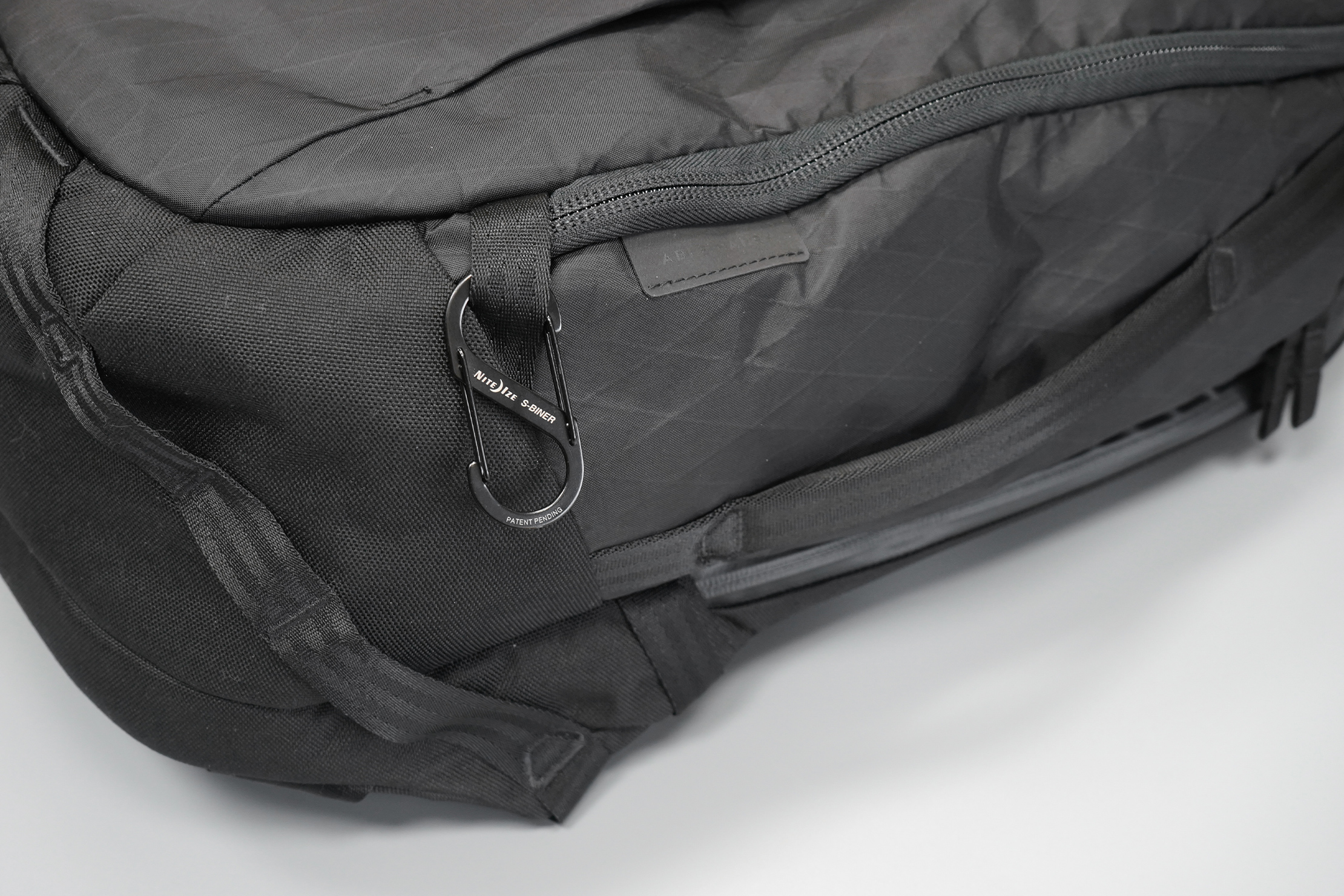 Able Carry Max Backpack | That's X-Pac and 1000D CORDURA Nylon—a durable tag team