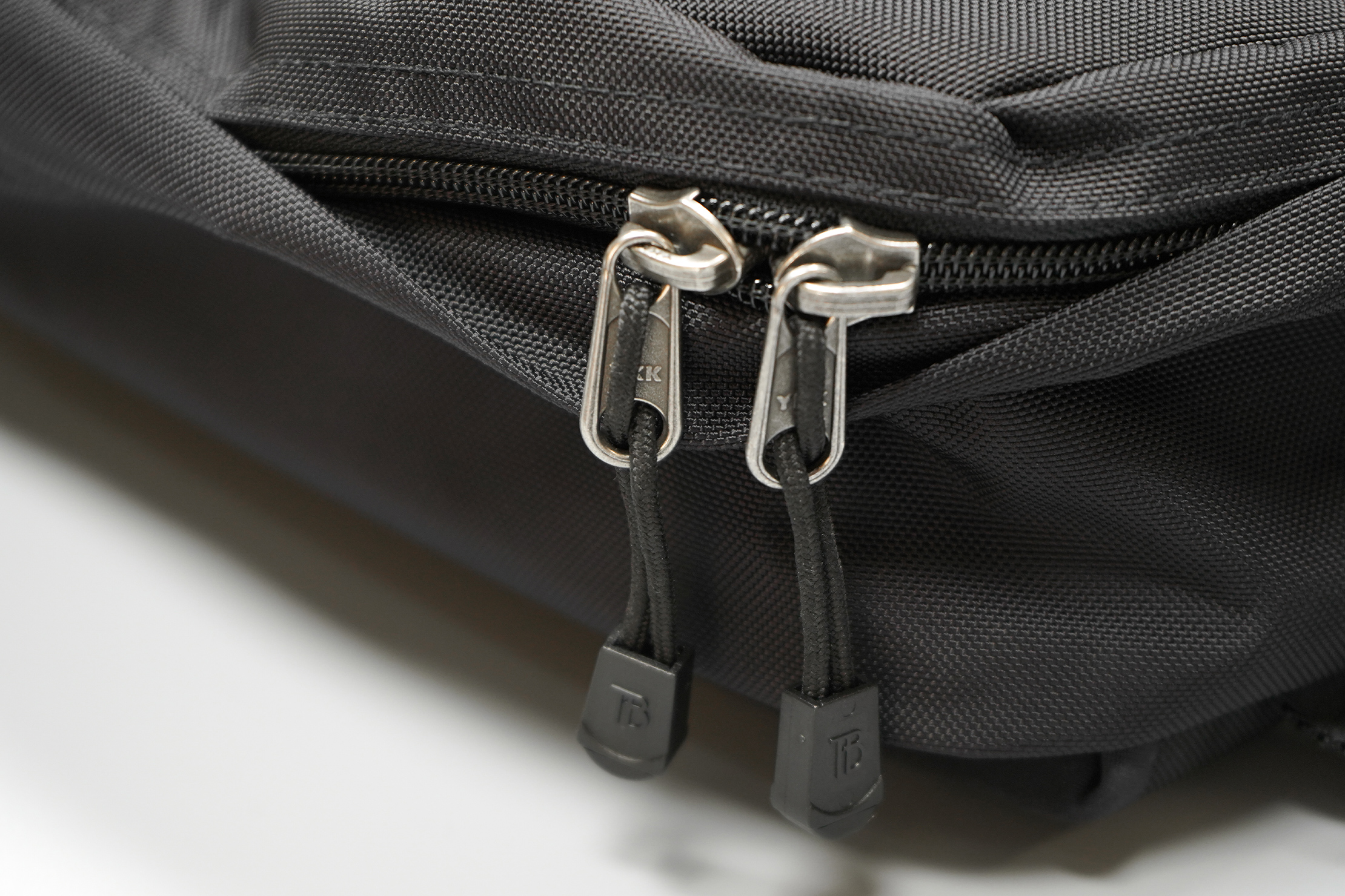 Tom Bihn Paragon Backpack | YKK zippers with Tom Bihn zipper pulls