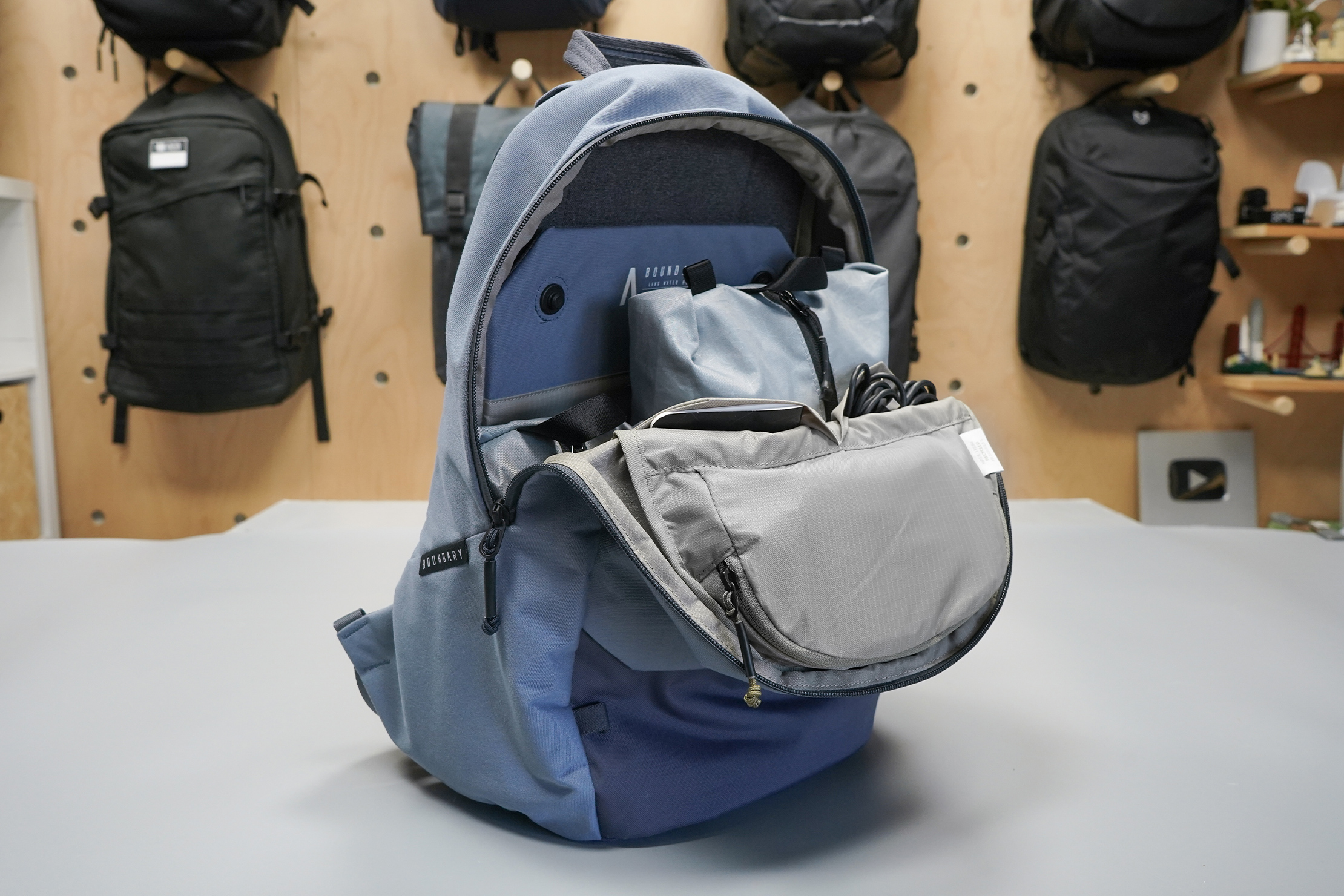 Boundary Supply Rennen Recycled Daypack | Main compartment