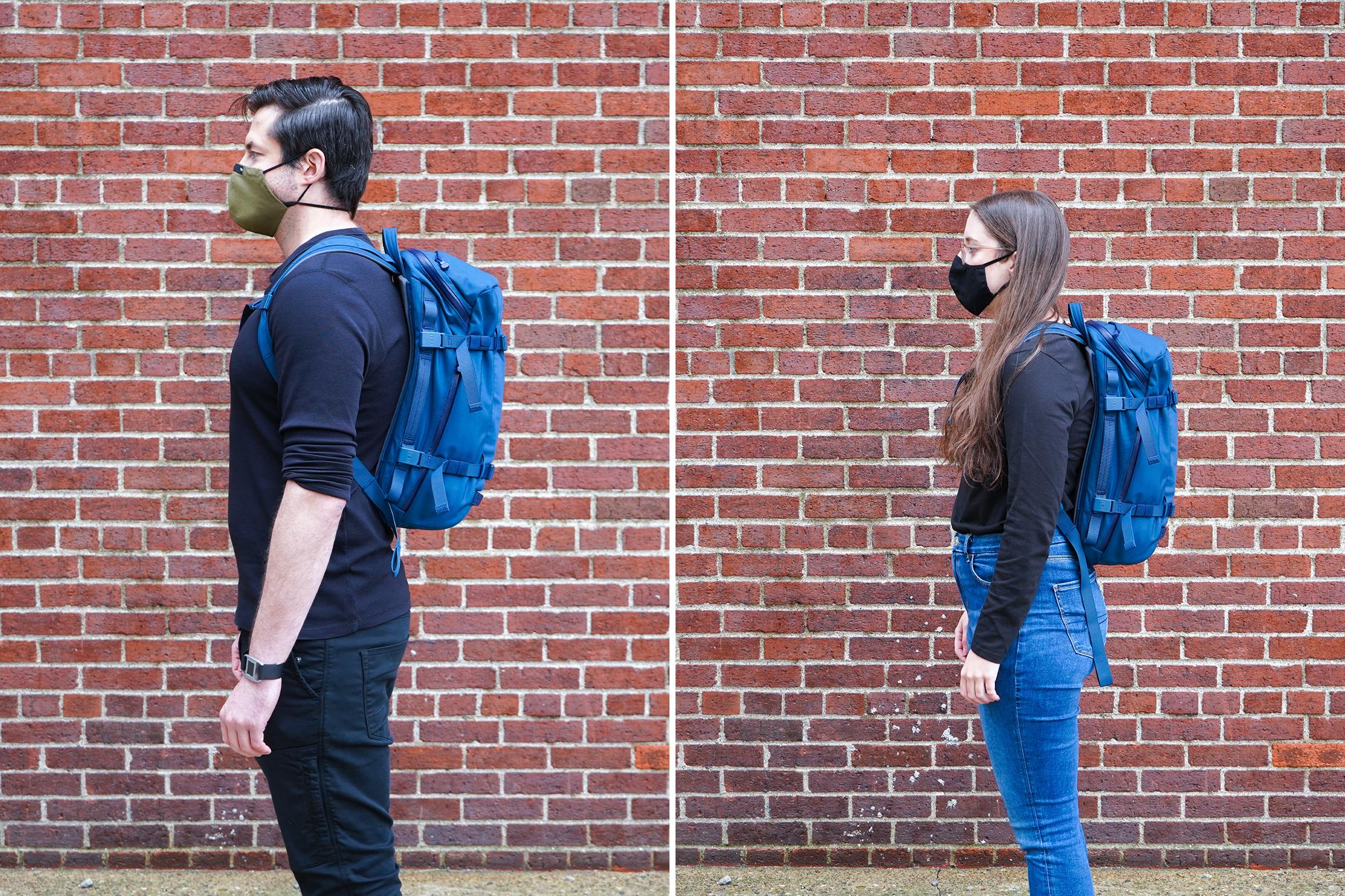 YETI Crossroads 22L Backpack | Male & Female Fit Photos