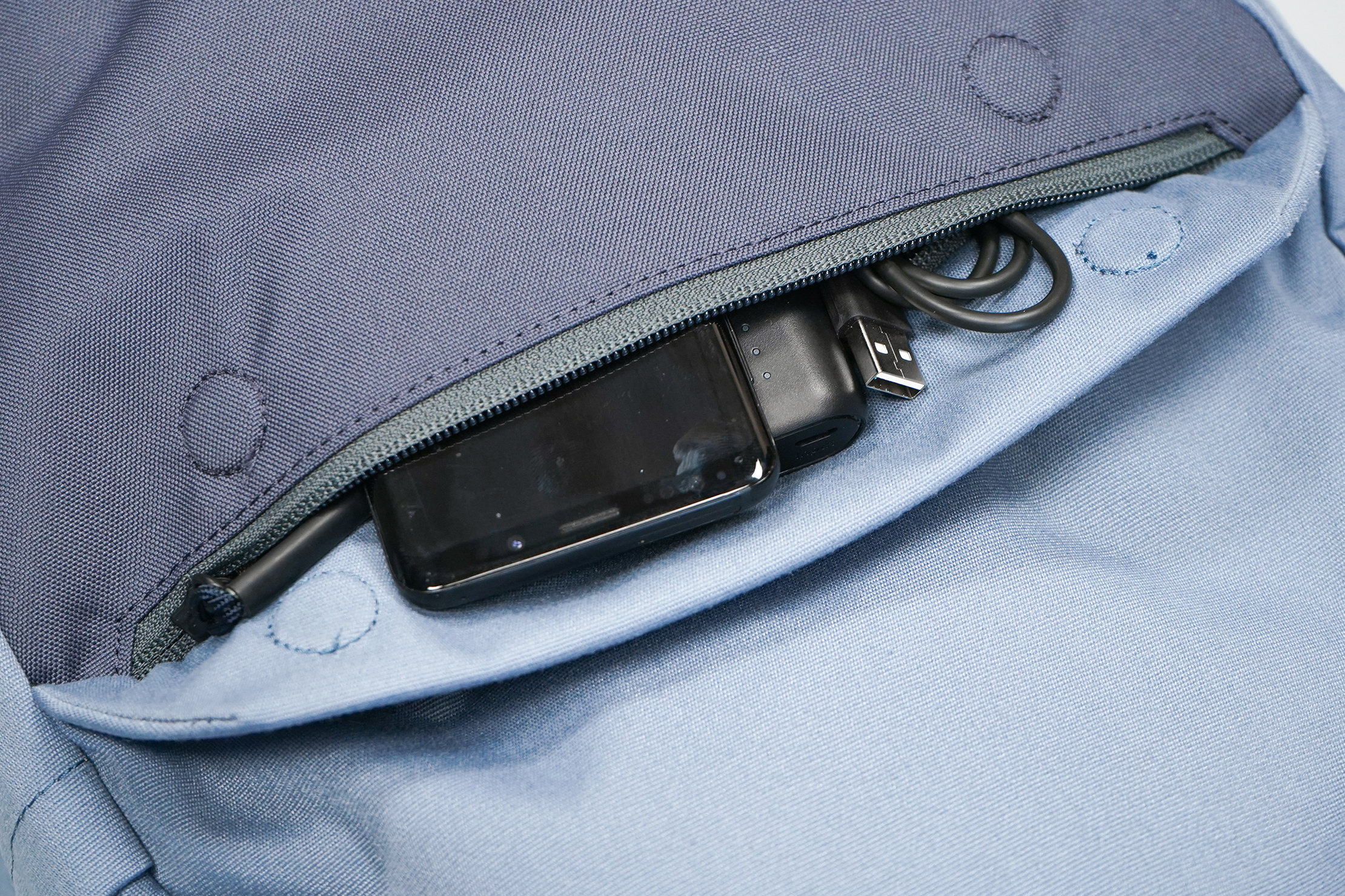 Boundary Supply Rennen Recycled Daypack | Front pocket
