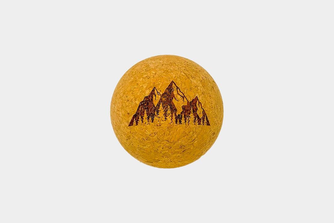 """Rawlogy """"Mountains"""" Cork Massage Ball"""