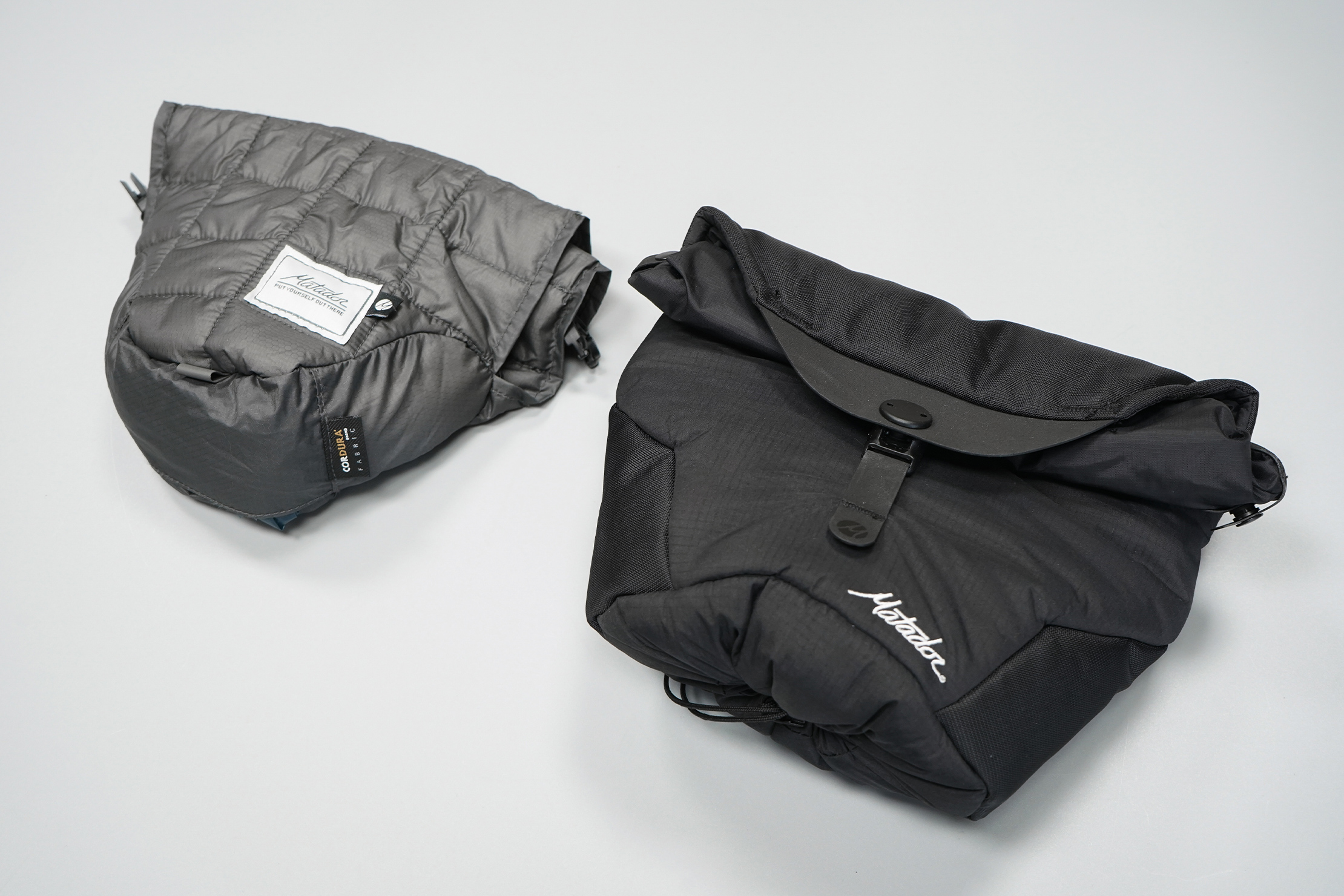 Matador Camera Base Layer 2.0 | The original on the left, the new version on the right.