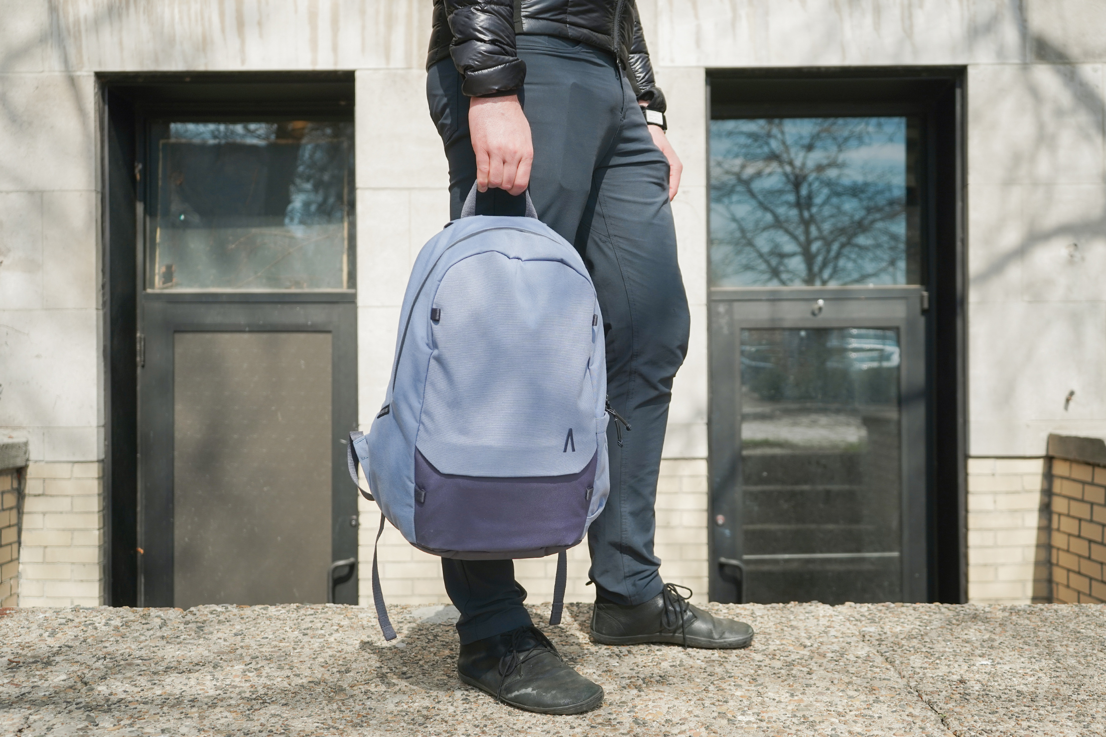 Boundary Supply Rennen Recycled Daypack | Using the daypack in the city