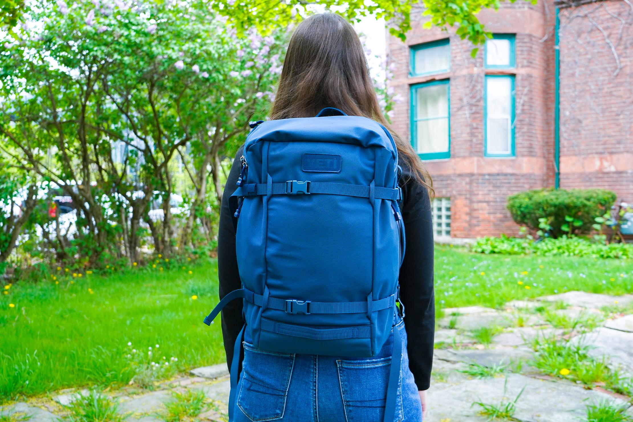 YETI Crossroads 22L Backpack | Walking In Detroit