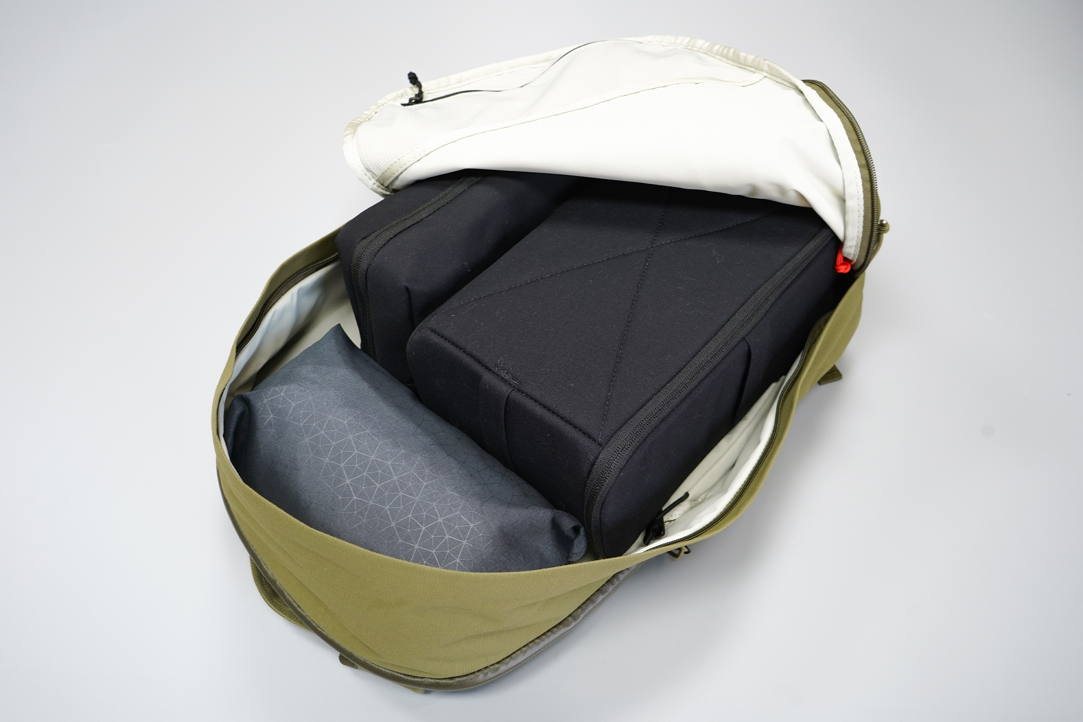 Moment MTW Backpack | MTW Camera Insert inside the main compartment