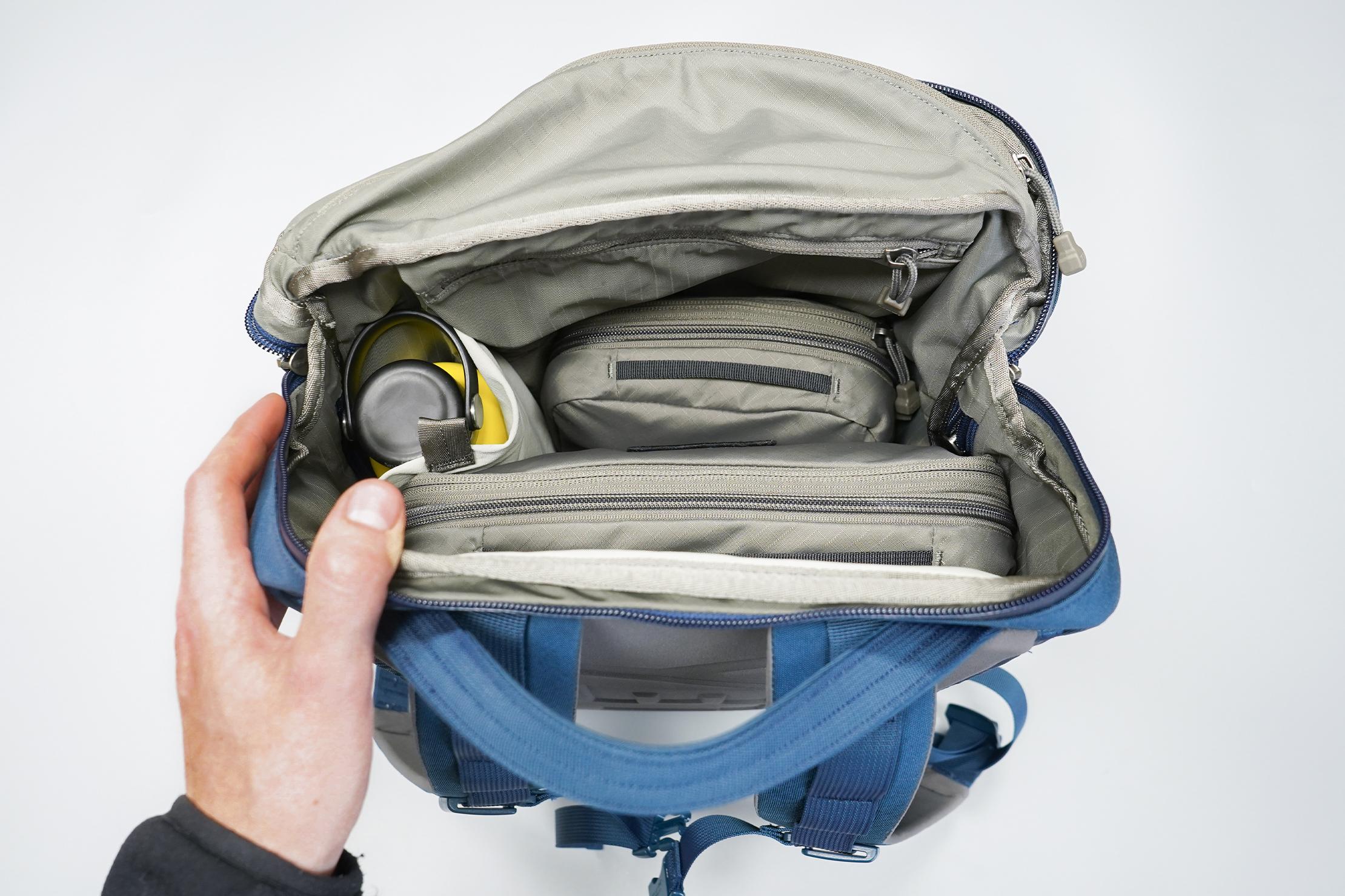 YETI Crossroads 22L Backpack | Main Compartment