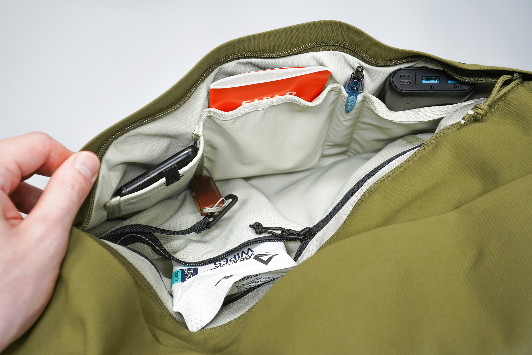 Moment MTW Backpack | Front pocket