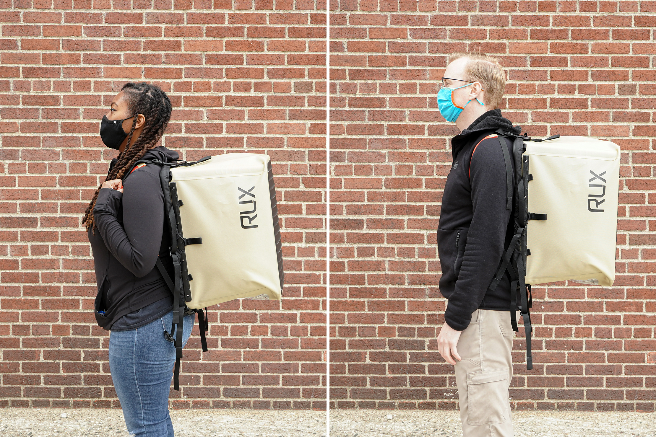 RUX 70L Review Backpack mode