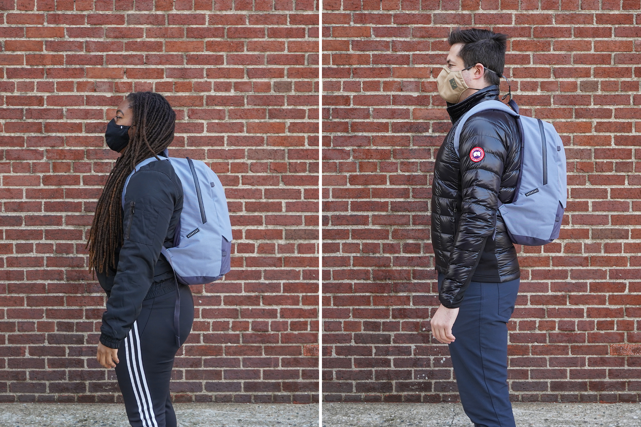 Boundary Supply Rennen Recycled Daypack | Male & Female Fit Photos