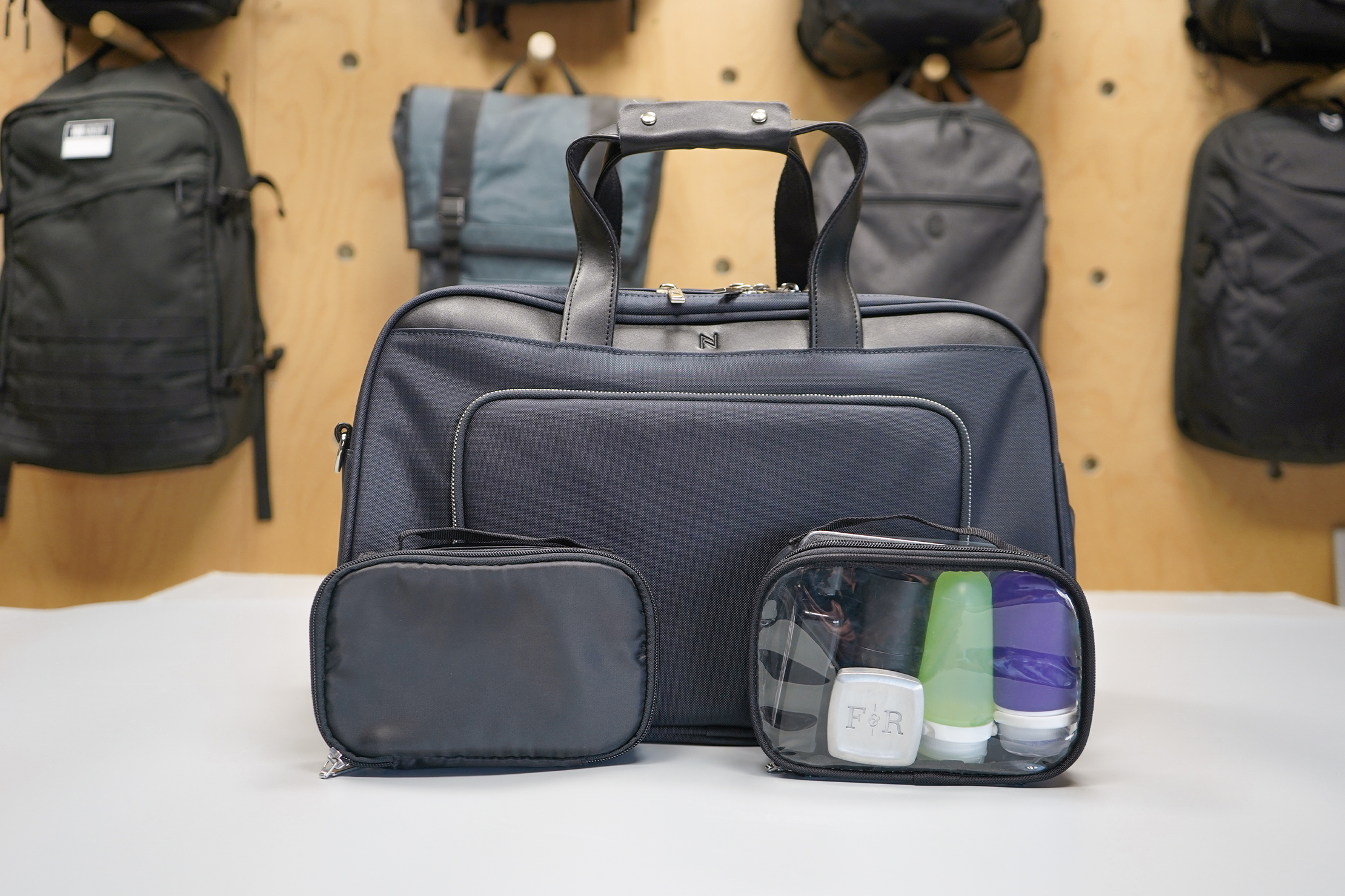 Nomad Lane Bento Bag Sport Edition tech pouch and toiletry bag