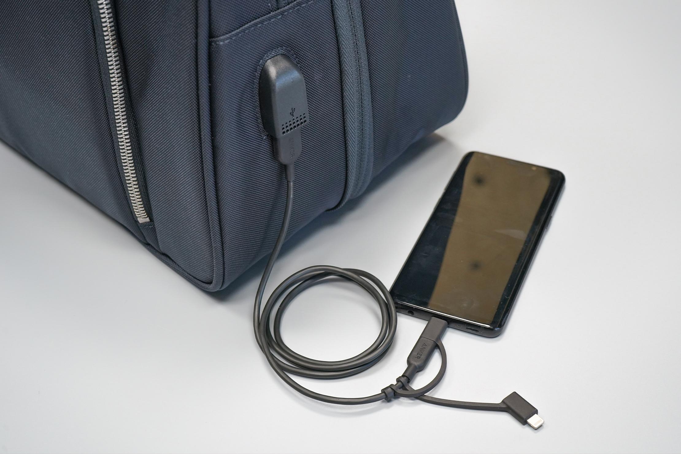 Nomad Lane Bento Bag Sport Edition changing port