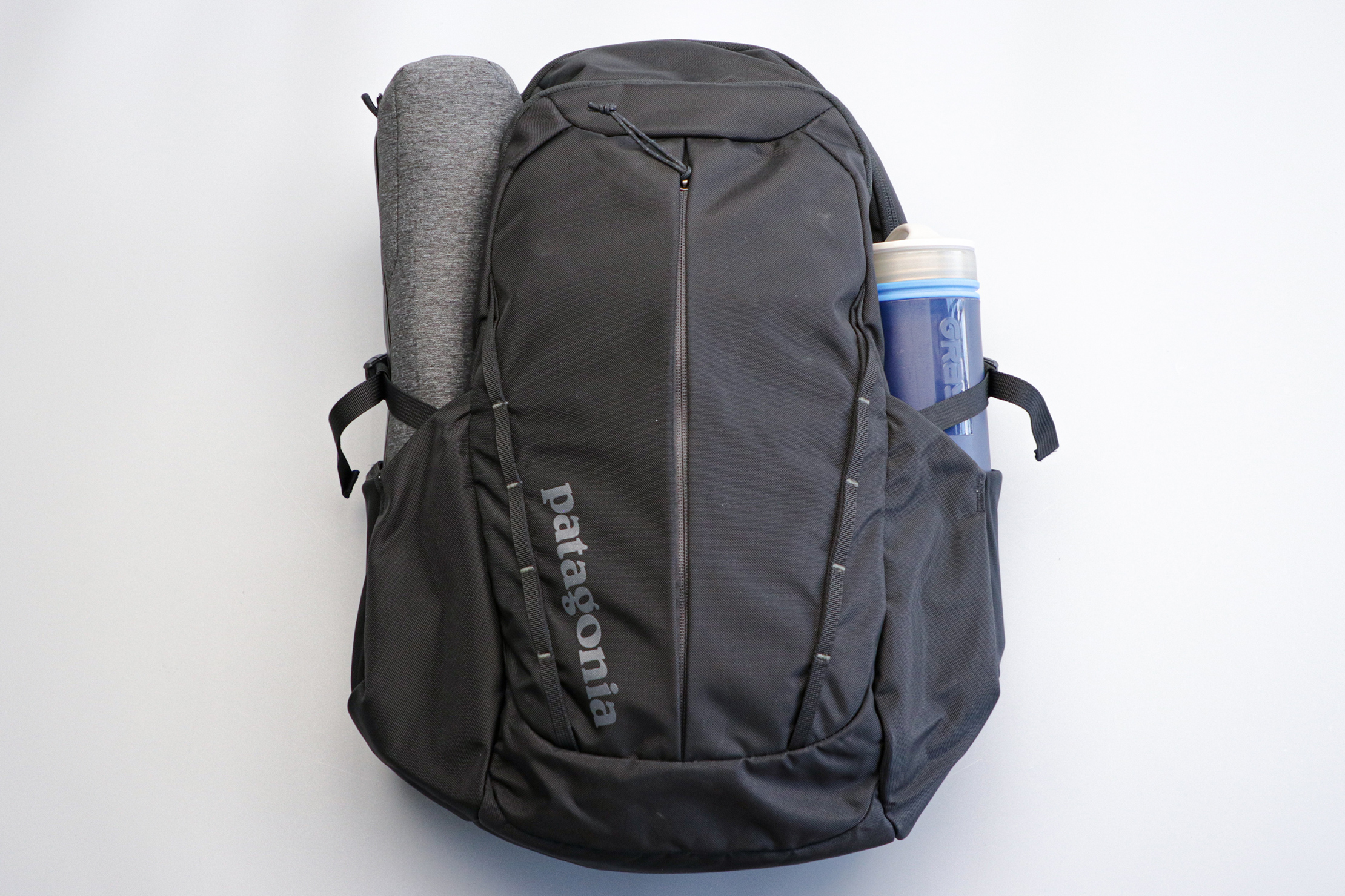 Patagonia Refugio Backpack water bottle pockets