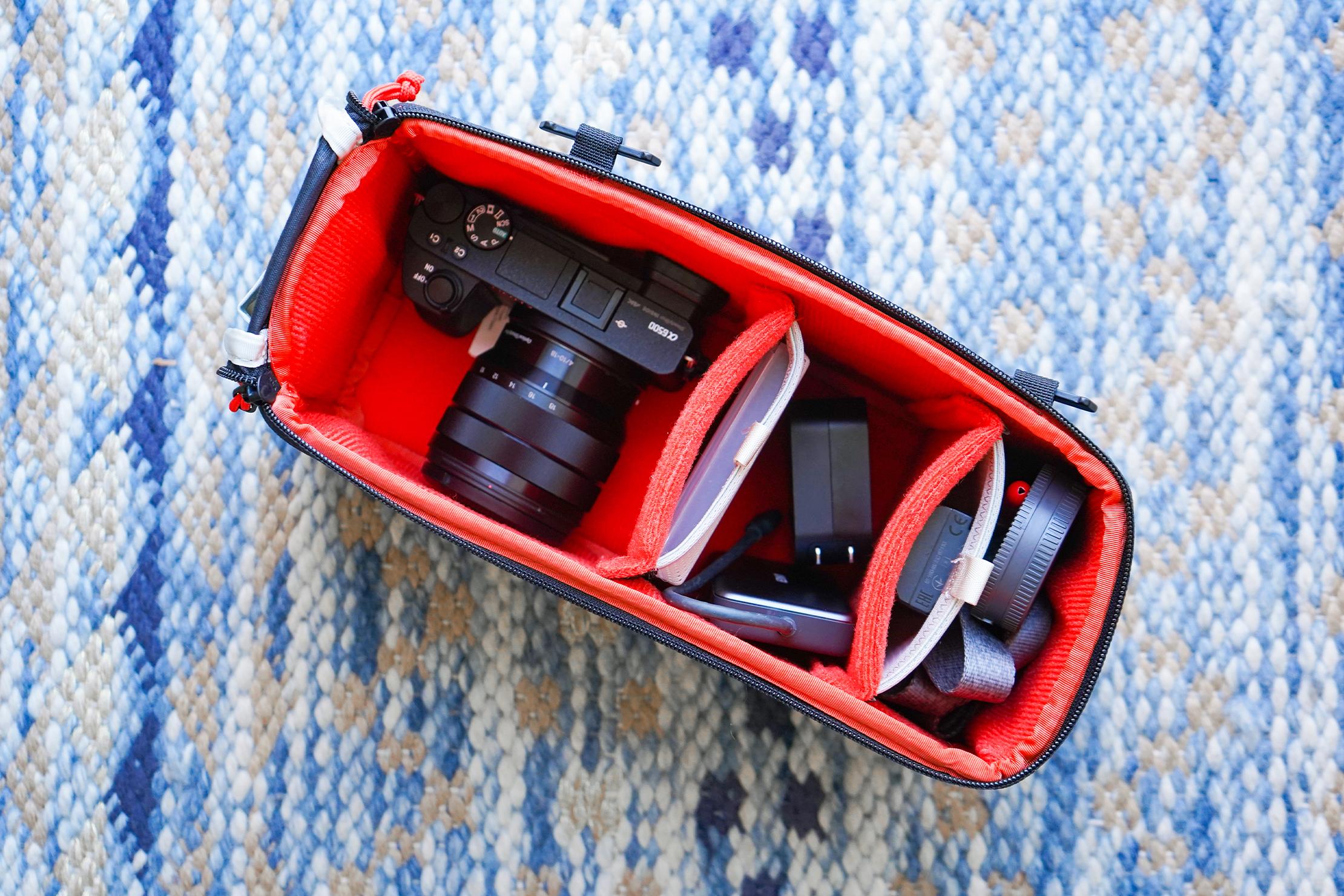 Moment MTW Camera Insert 5L | Using the camera cube in the studio