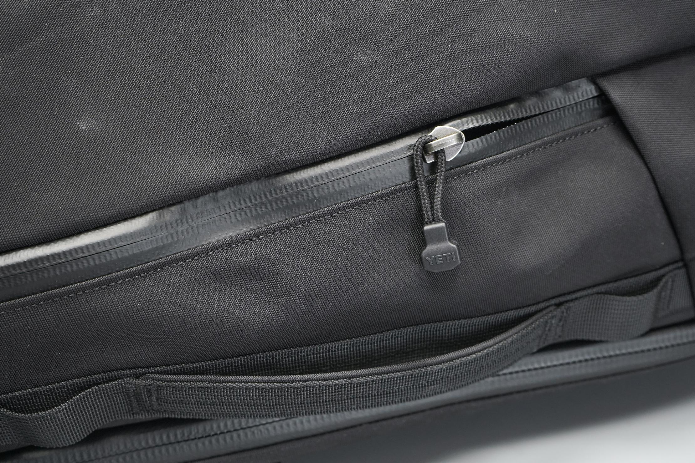YETI Crossroads 35L Backpack | The TuffSkin Nylon and YKK zipper.
