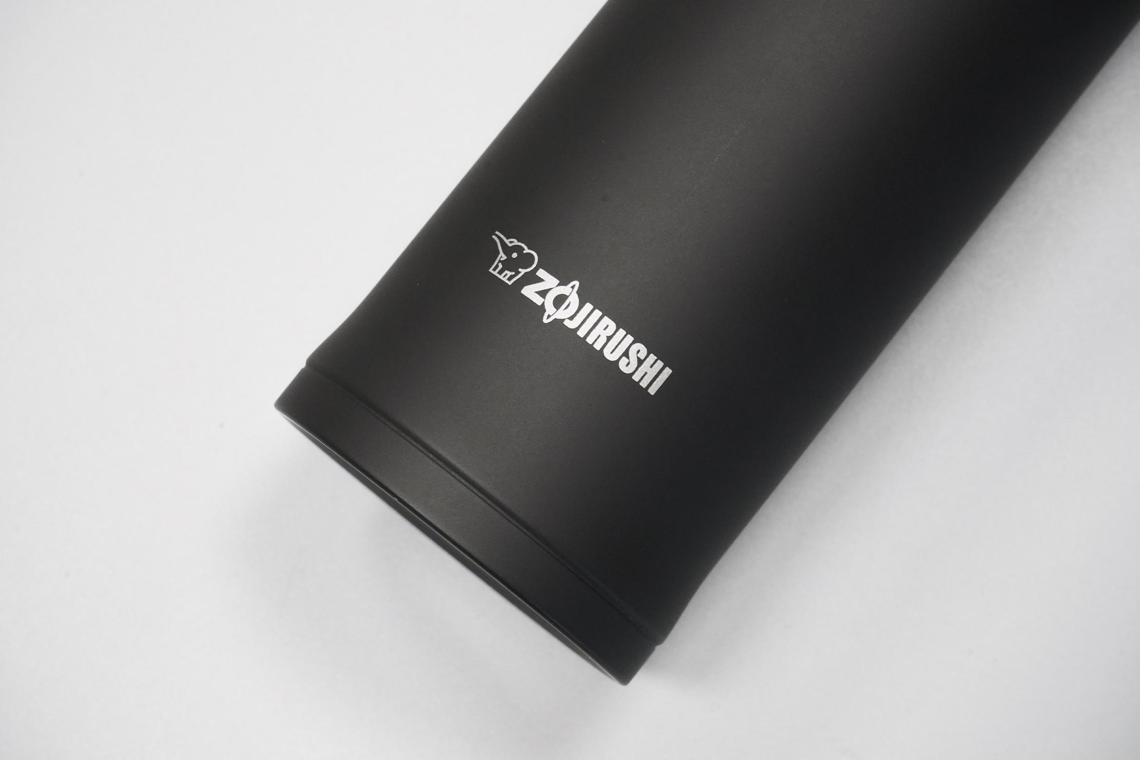 Zojirushi Stainless Mug (16 oz)   Logo and finish