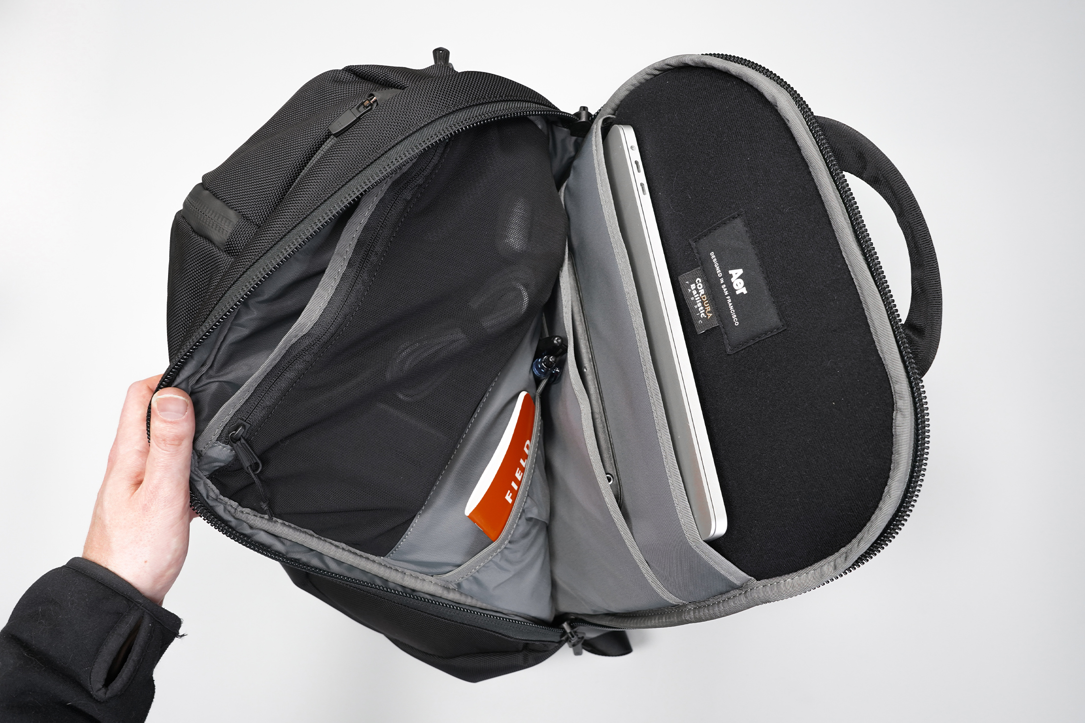 Aer Duffel Pack 3 | Main compartment