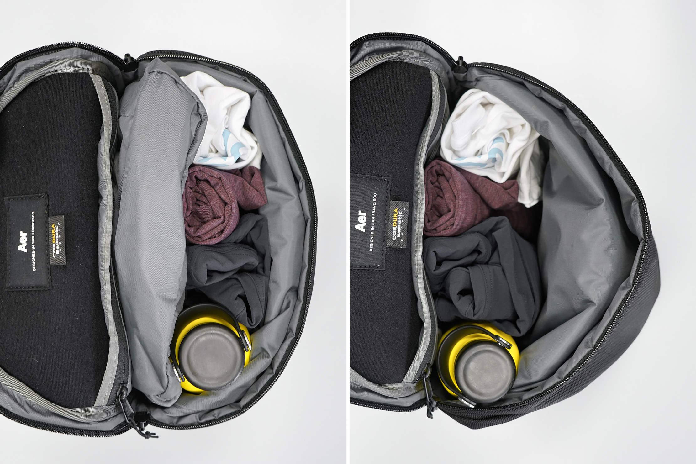 Aer Sling Bag 3 main compartment