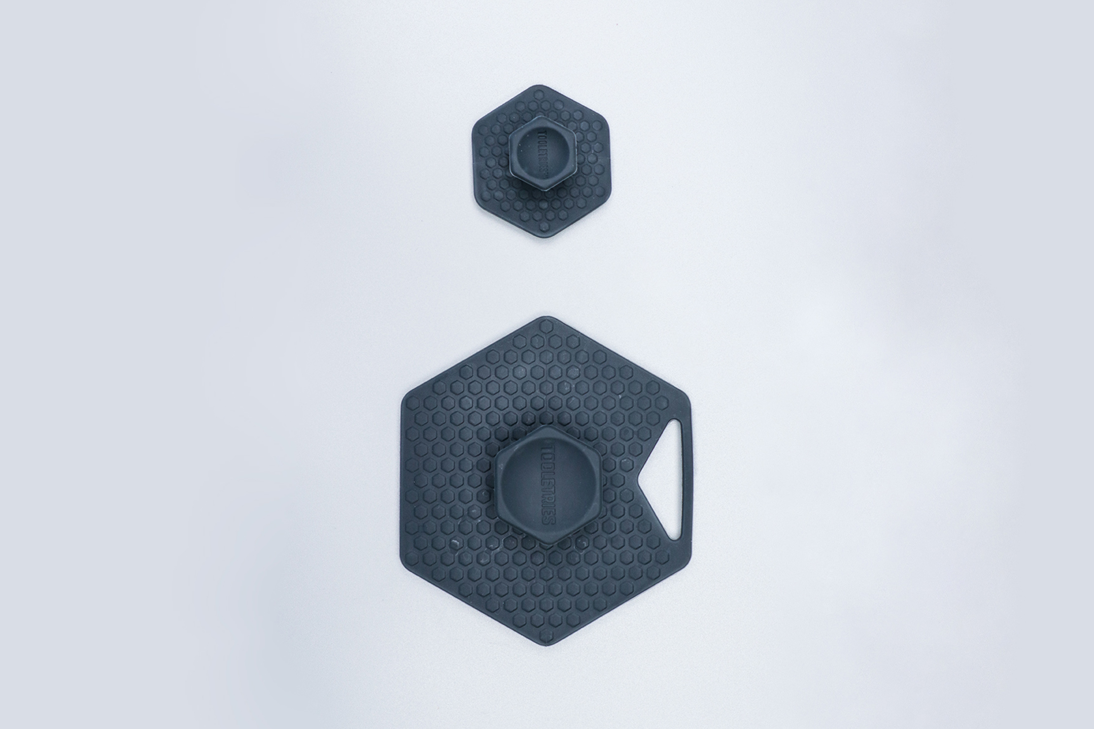 Tooletries Face Body Scrubber Top View