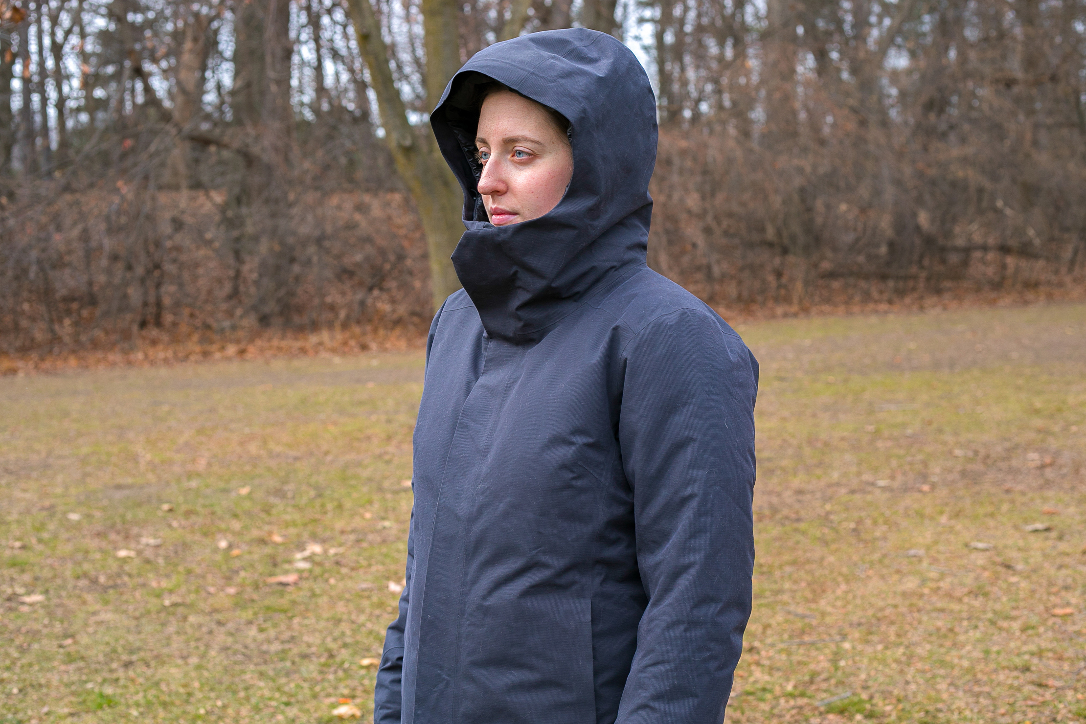 Arc'teryx Patera Parka | Fully Zipped With Hood Up