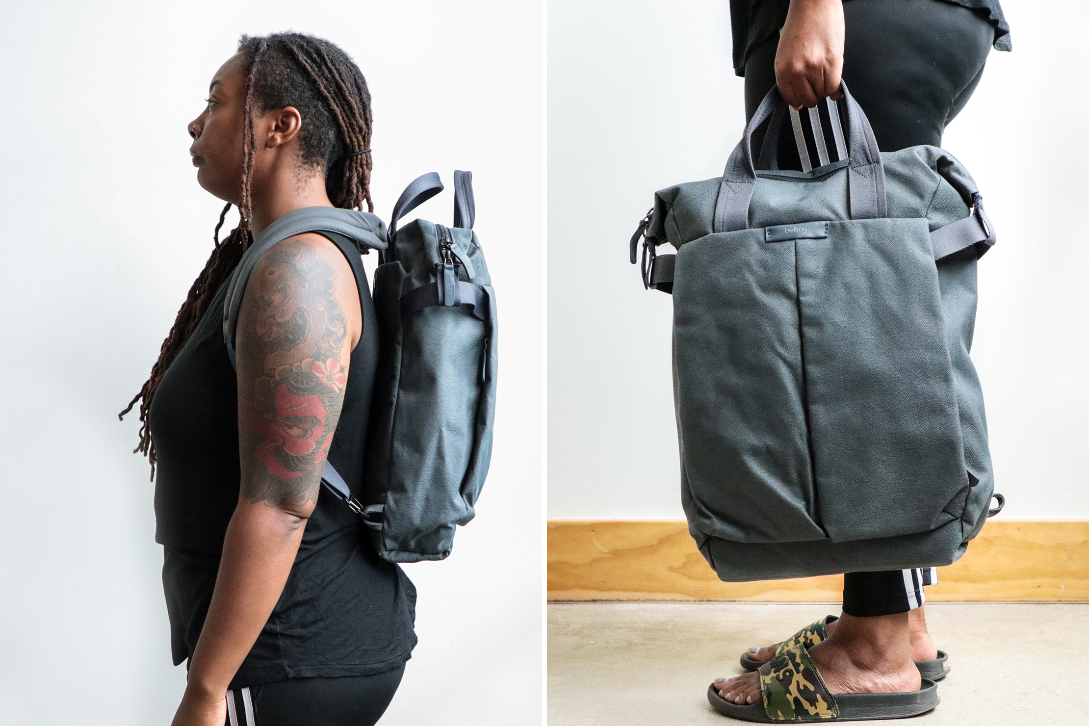 Bellroy Tokyo Totepack backpack and tote