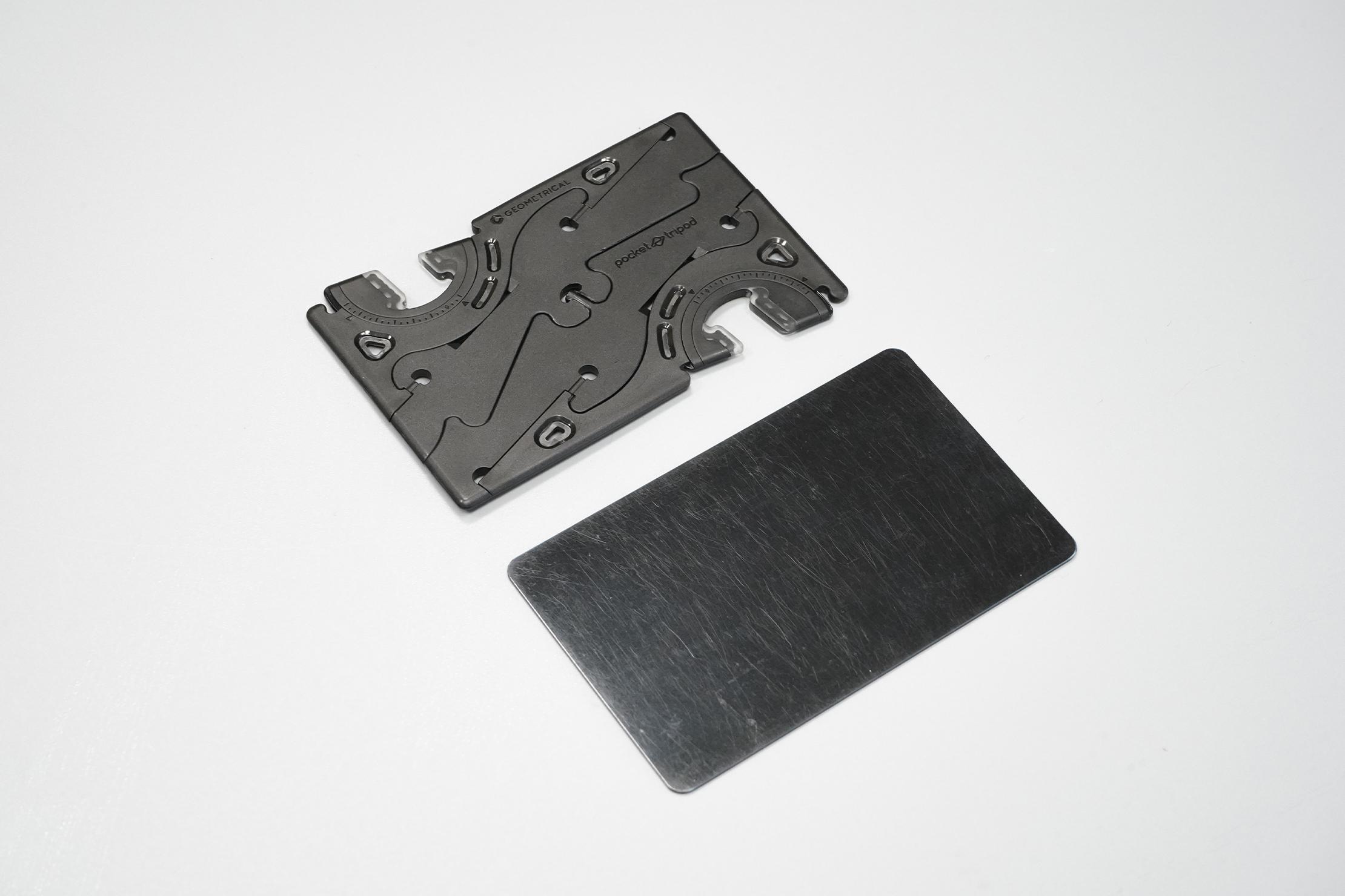 Geometrical Pocket Tripod Pro   The tripod in card form