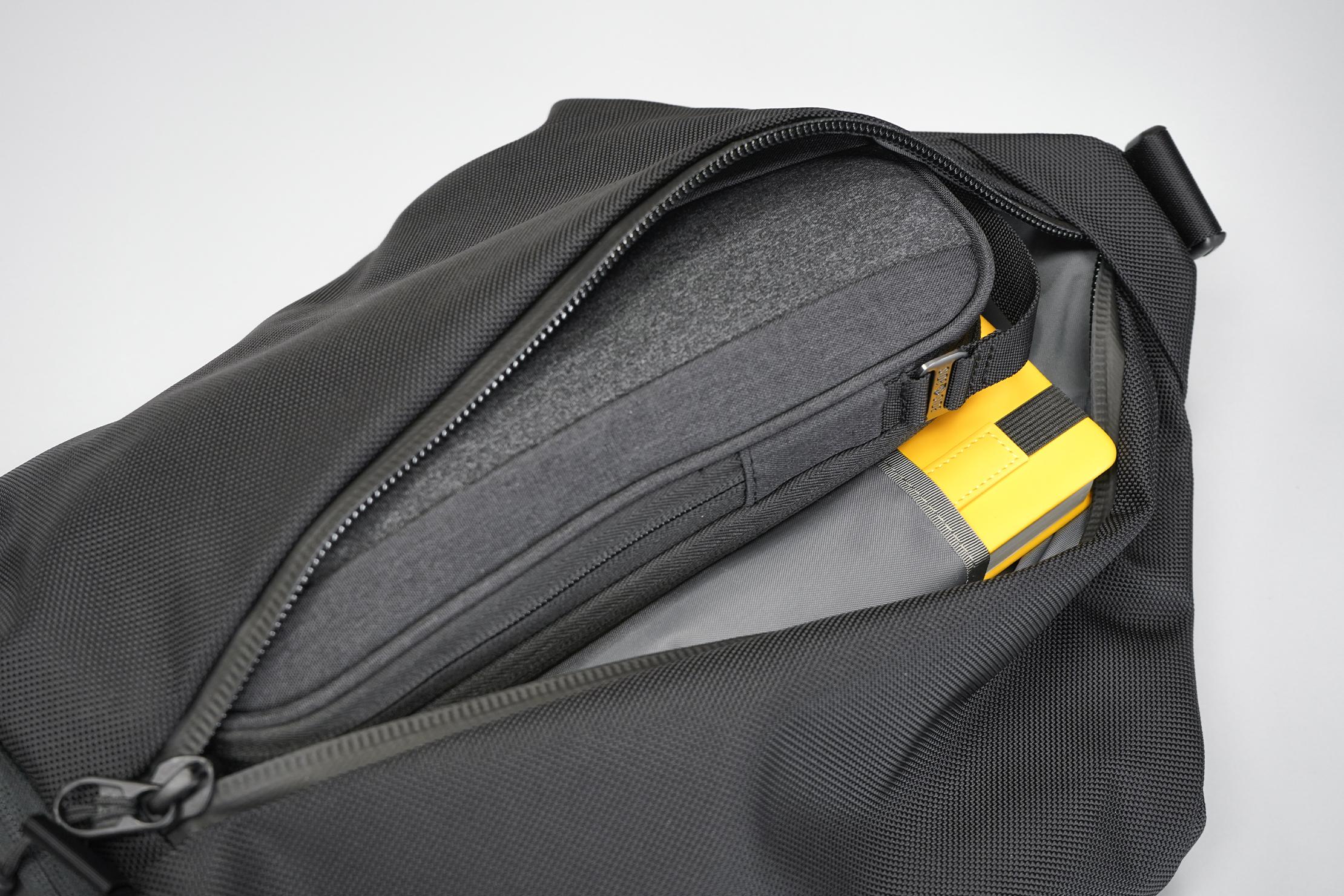 Aer Sling Bag 3 front compartment