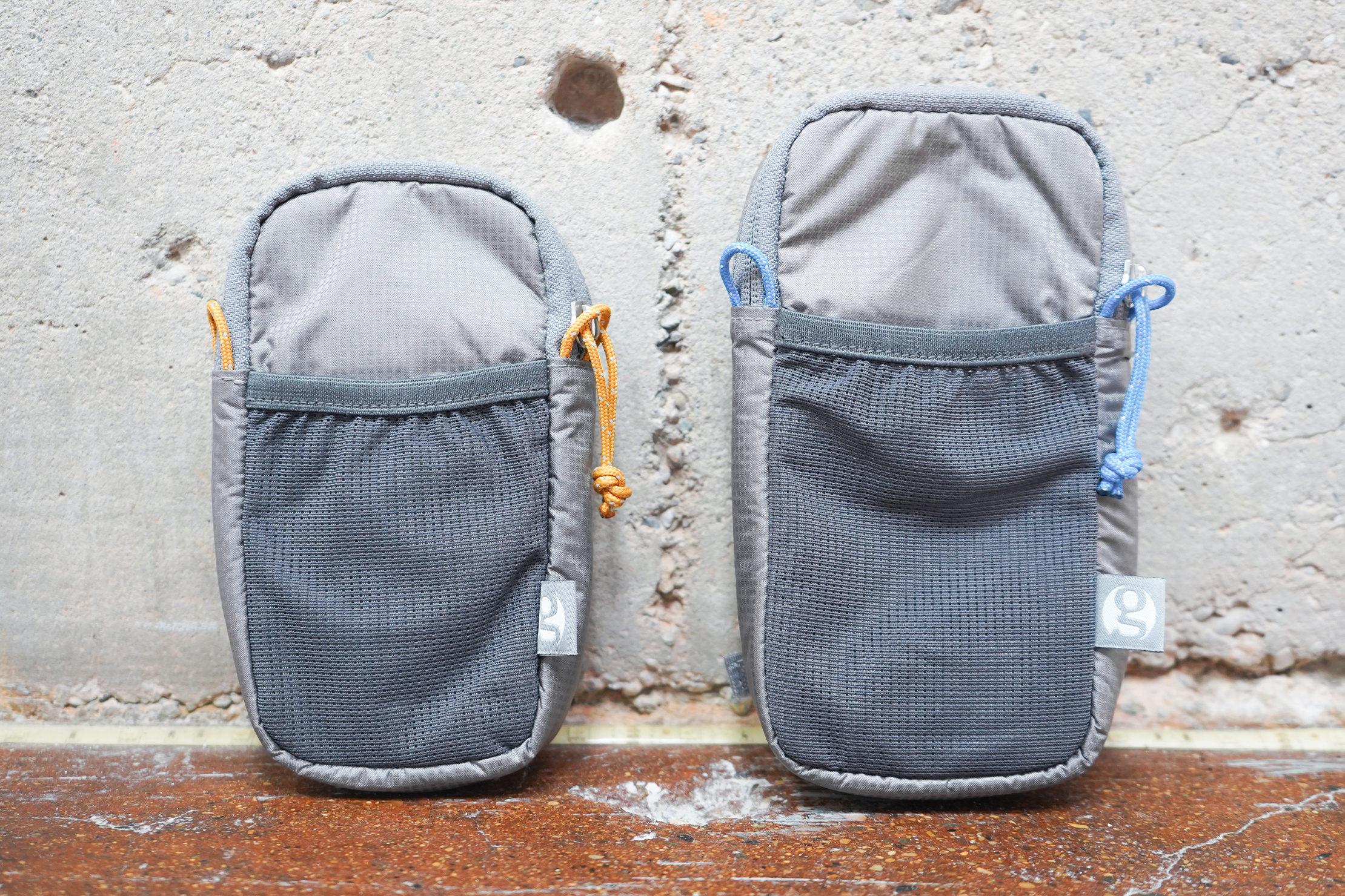 Gossamer Gear Shoulder Strap Pocket | The pouches side by side