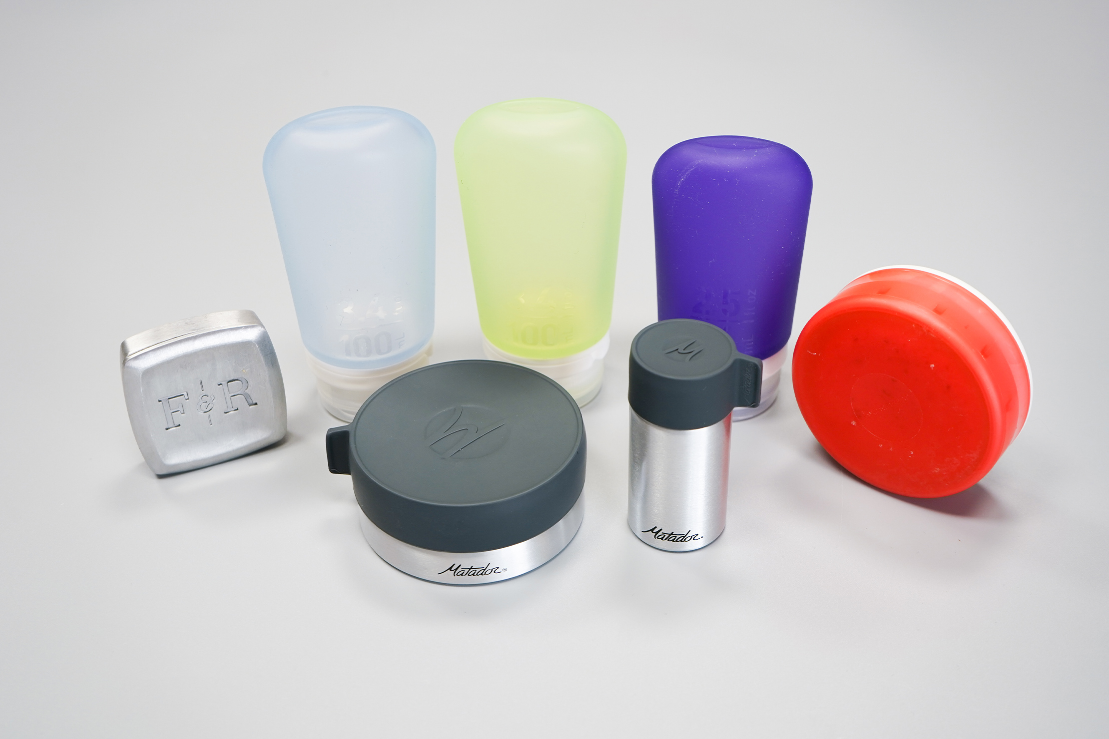 Matador Waterproof Travel Canisters | Toiletry use