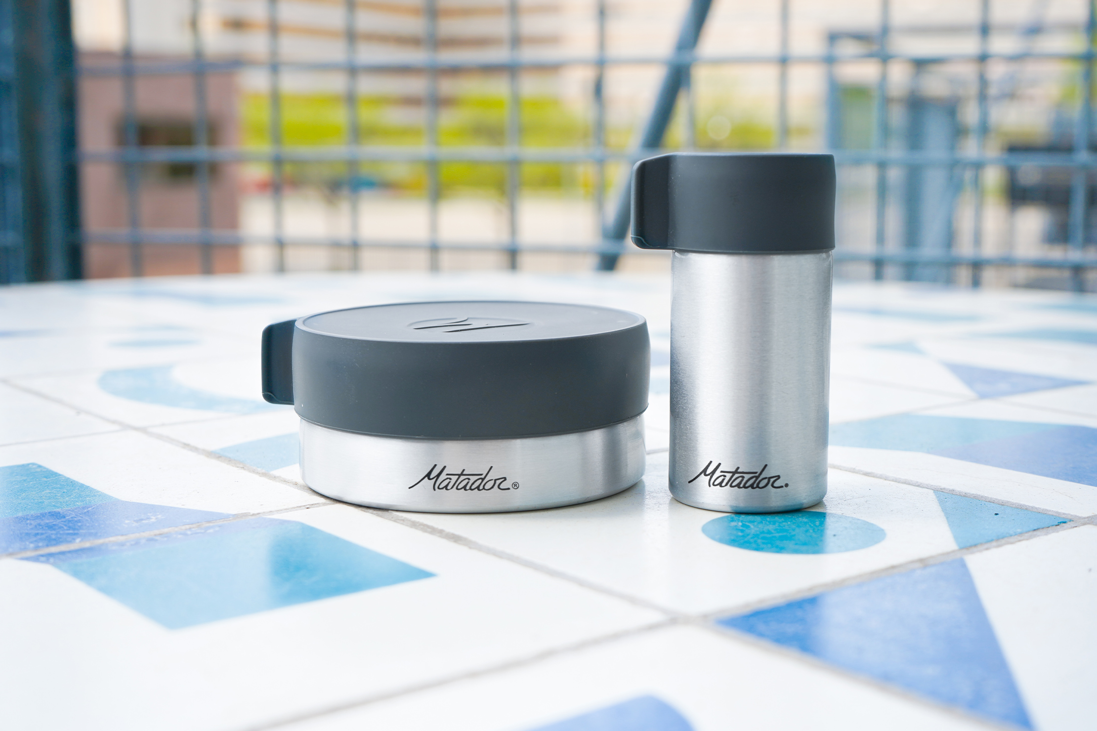 Matador Waterproof Travel Canisters | Using the canisters outdoors
