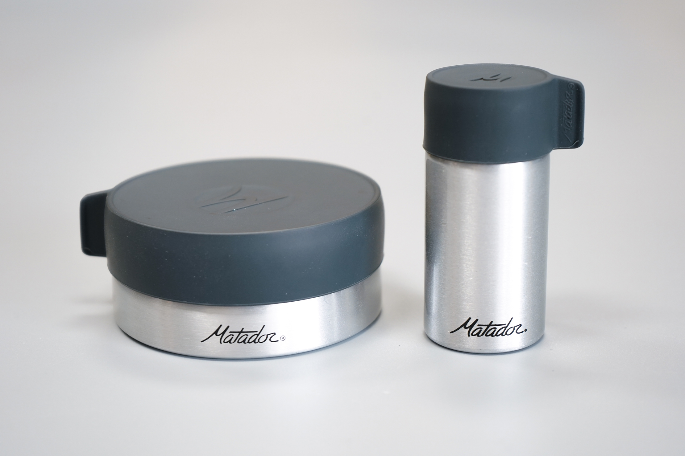 Matador Waterproof Travel Canisters | 100 ml & 40 ml respectively