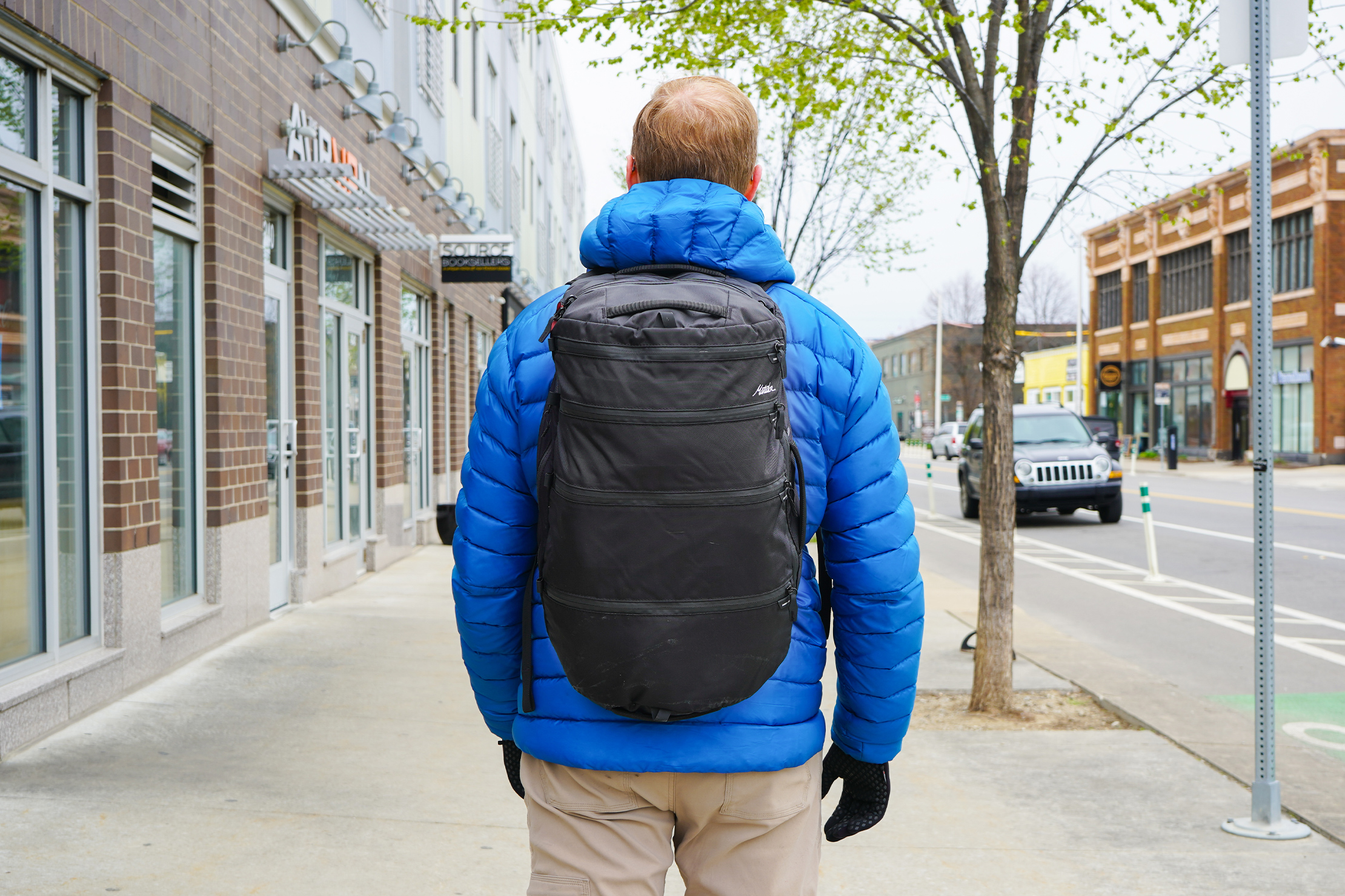 Matador SEG30 Backpack | Out of town trip with the backpack
