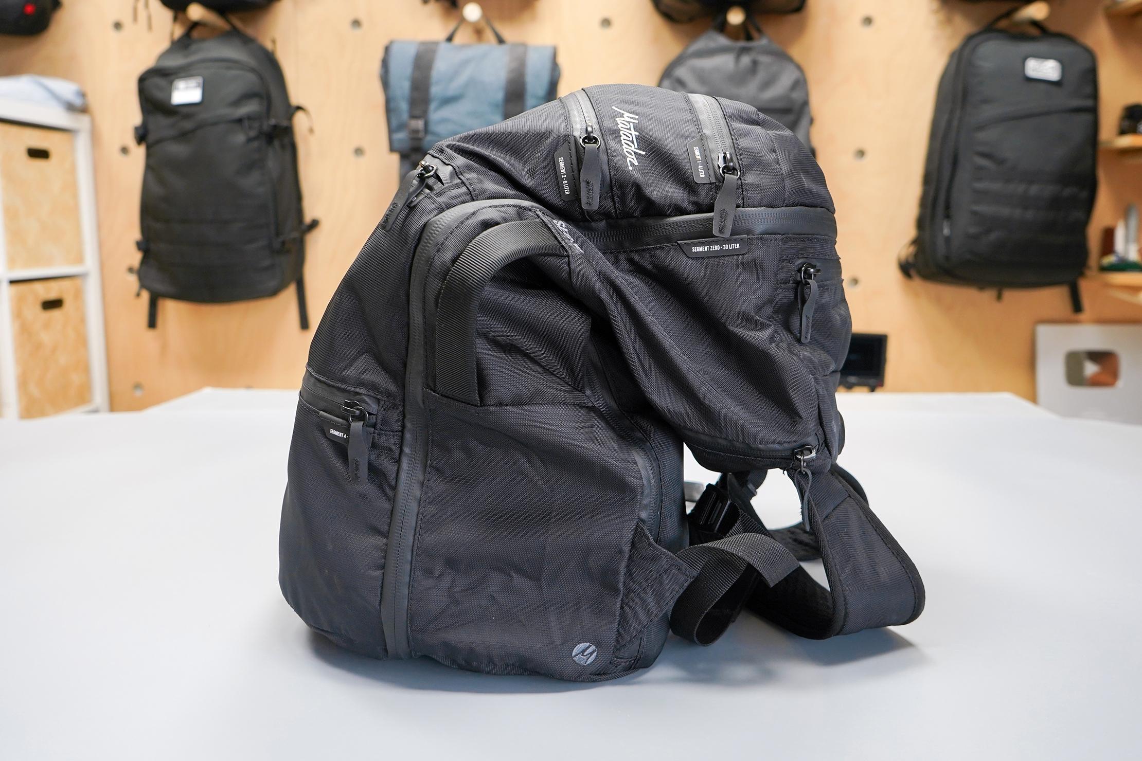 Matador SEG30 Backpack | 8-liter compartment not utilized