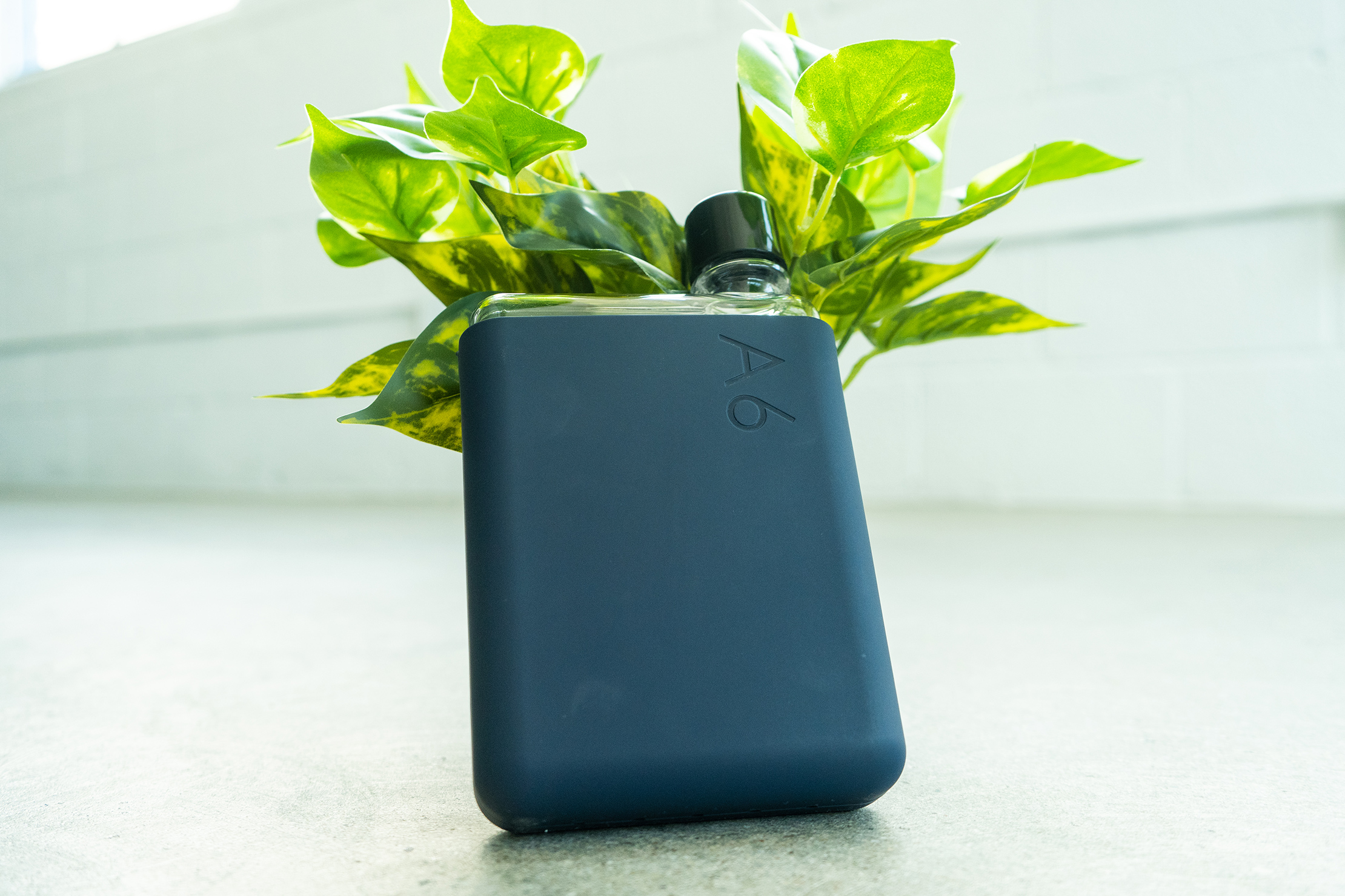 memobottle A6 with silicone sleeve