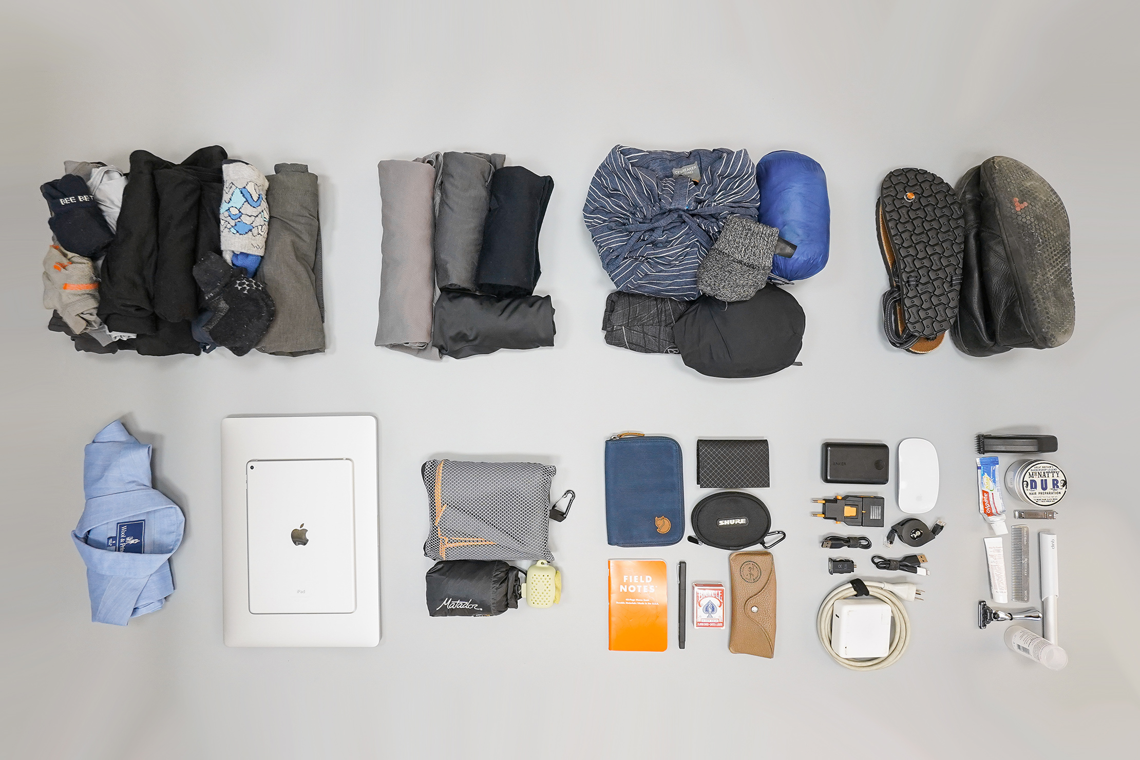 How To Pack a Carry-on Organized Into Piles