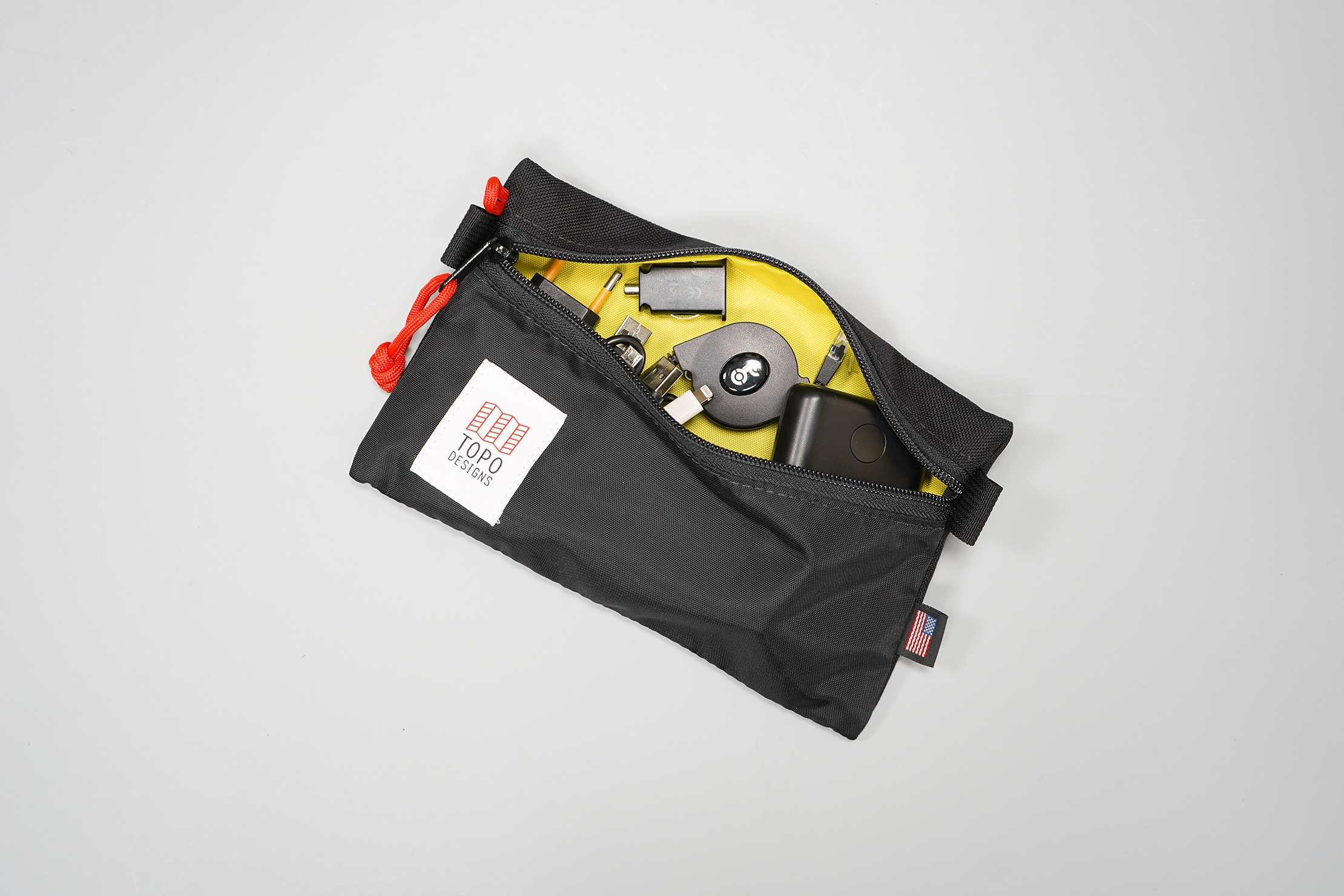 How To Pack a Carry-on Small Tech Pouch