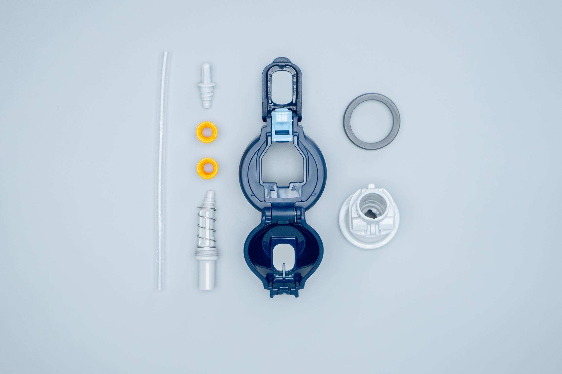 Zojirushi Cool Bottle Lid Components