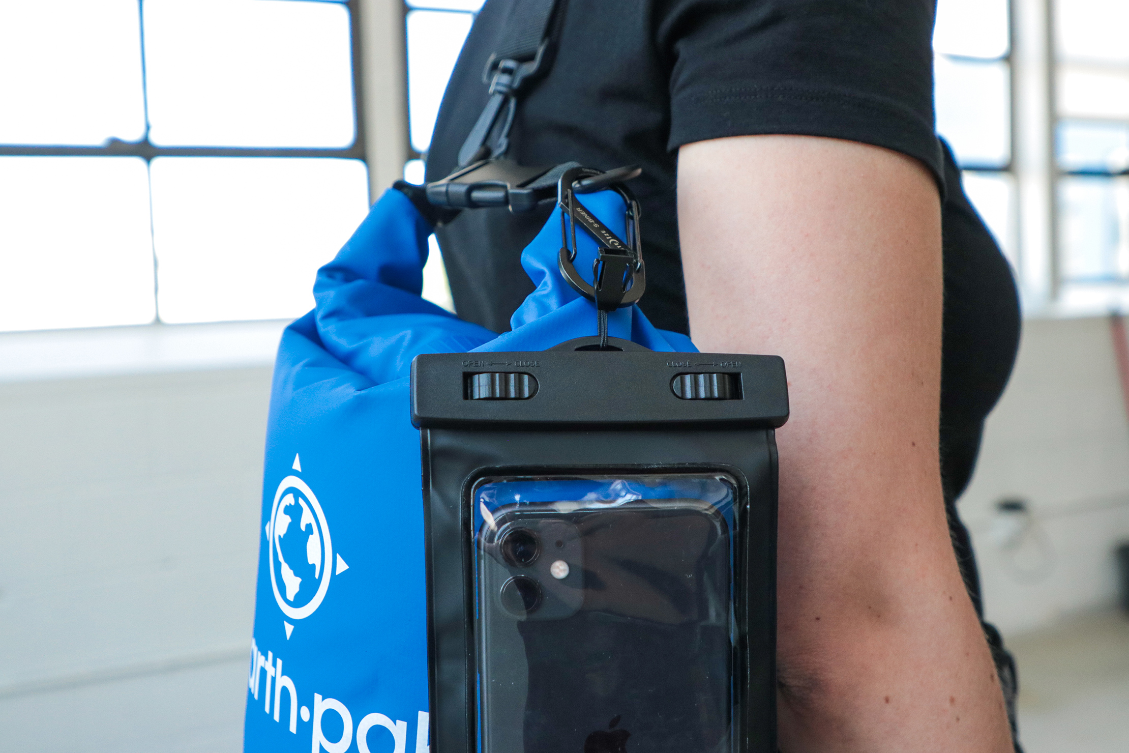 Earth Pak Original Waterproof Dry Bag With Phone Pocket