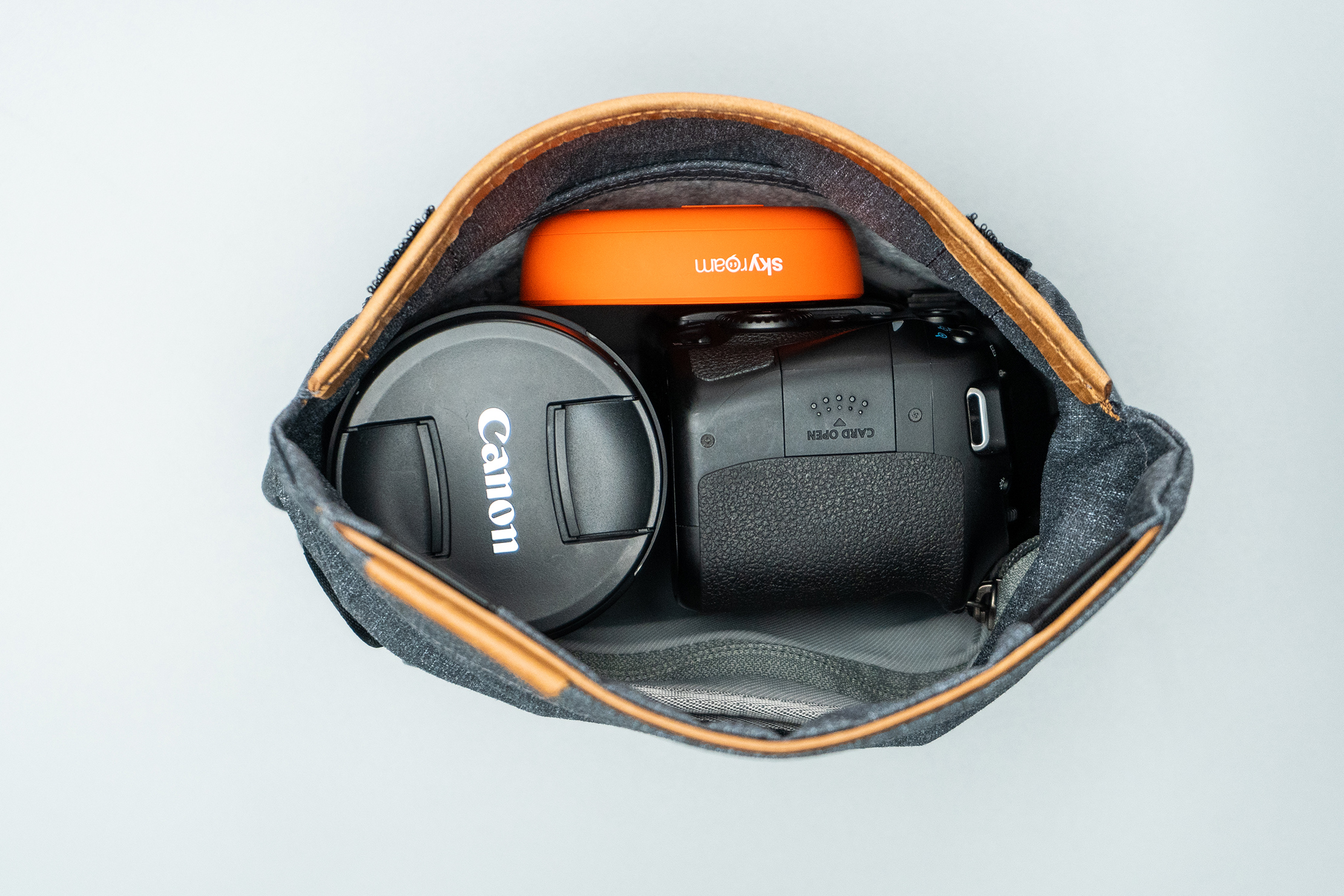 Peak Design Field Pouch V2 Packed with Gear