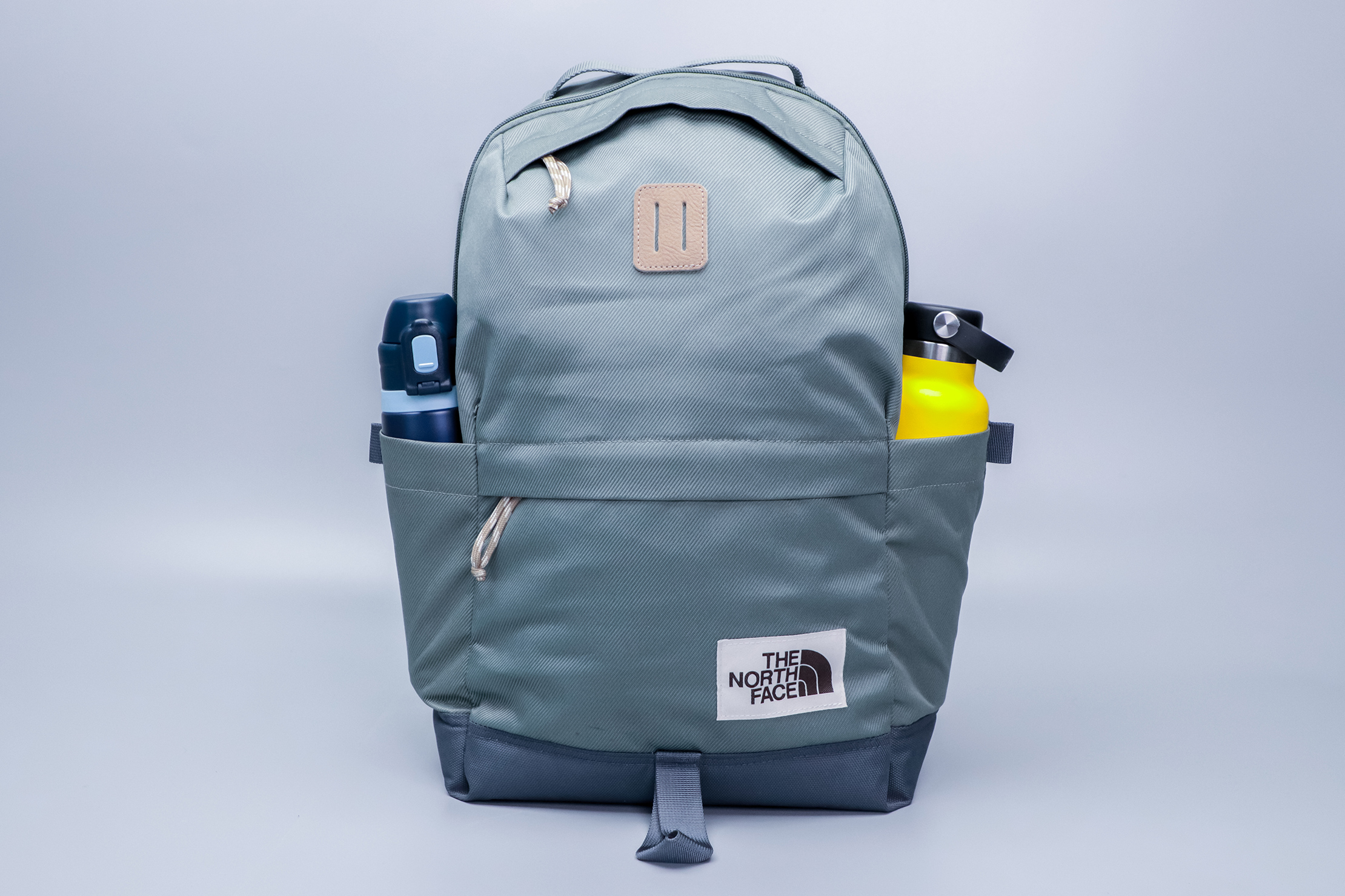 The North Face Daypack two water bottle pockets