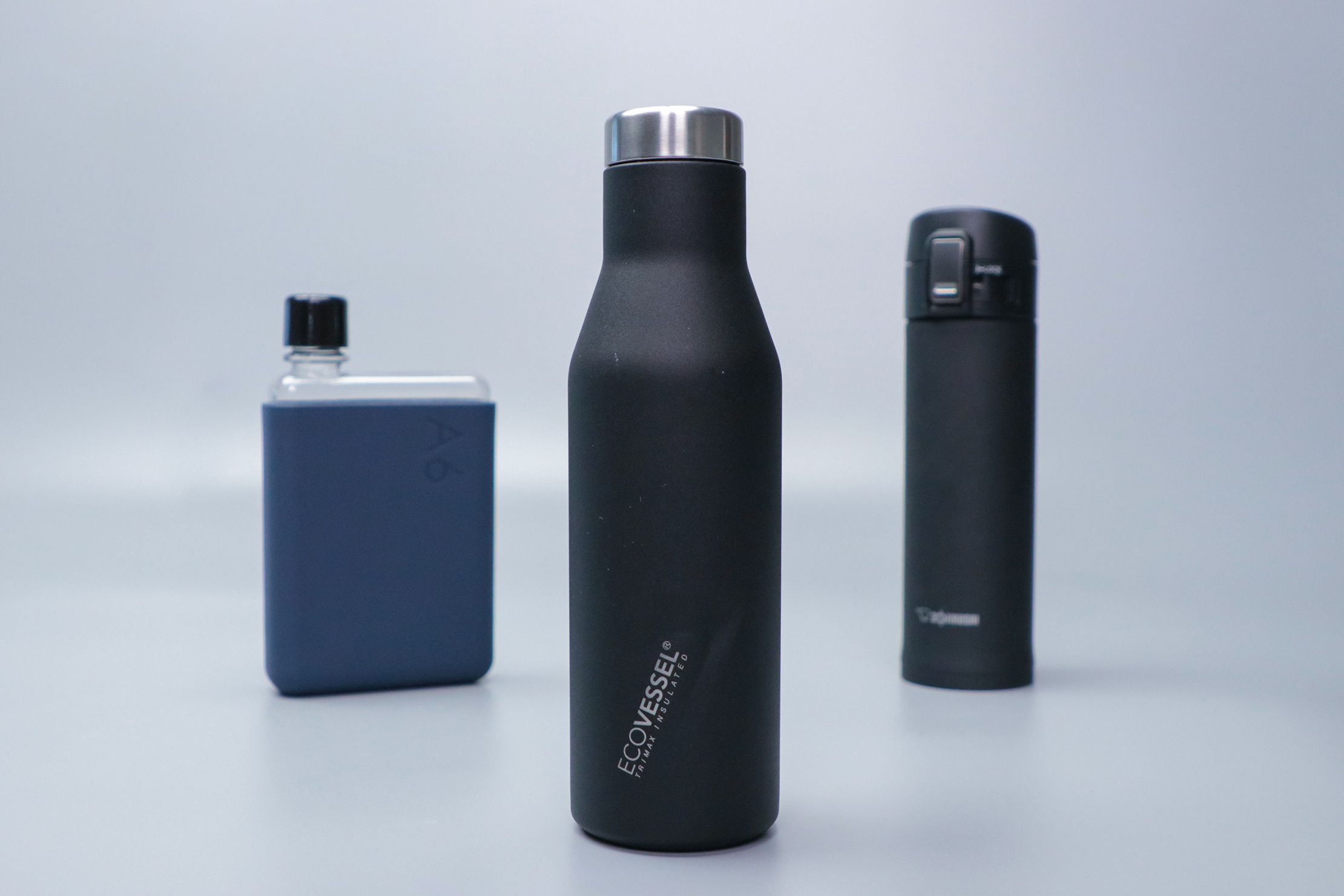 EcoVessel The ASPEN with other bottles