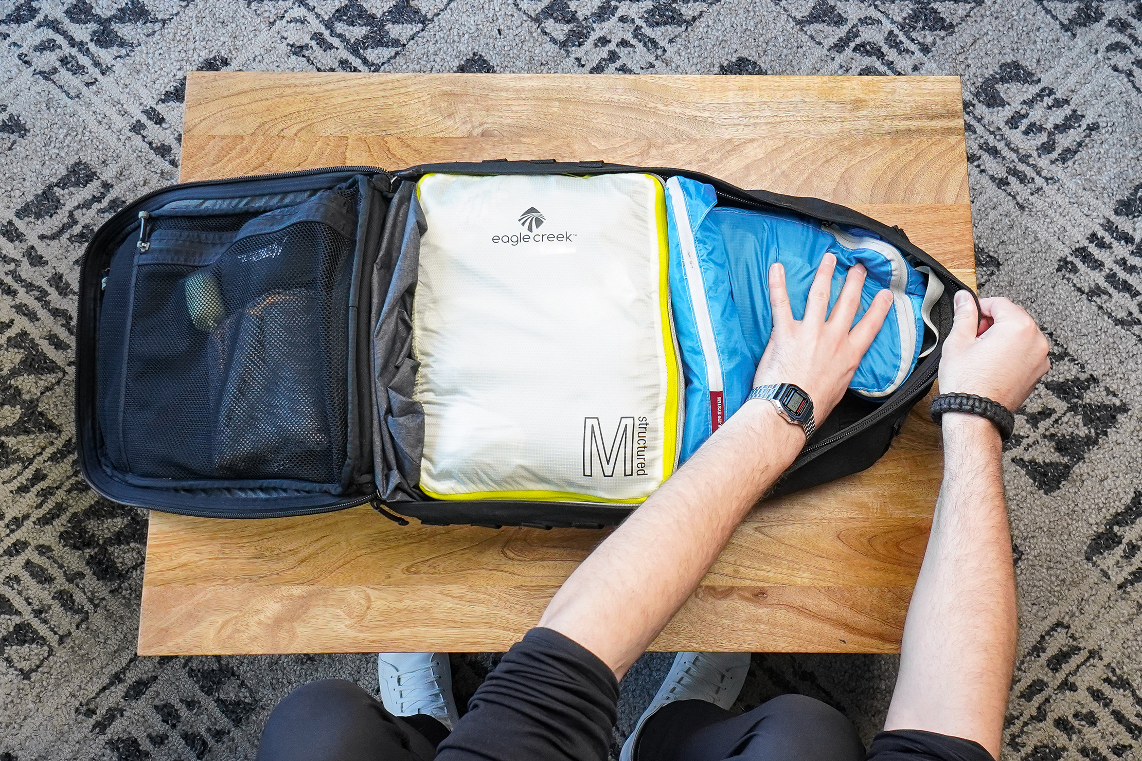 How To Pack a Carry-on Packing Cubes Packed Up