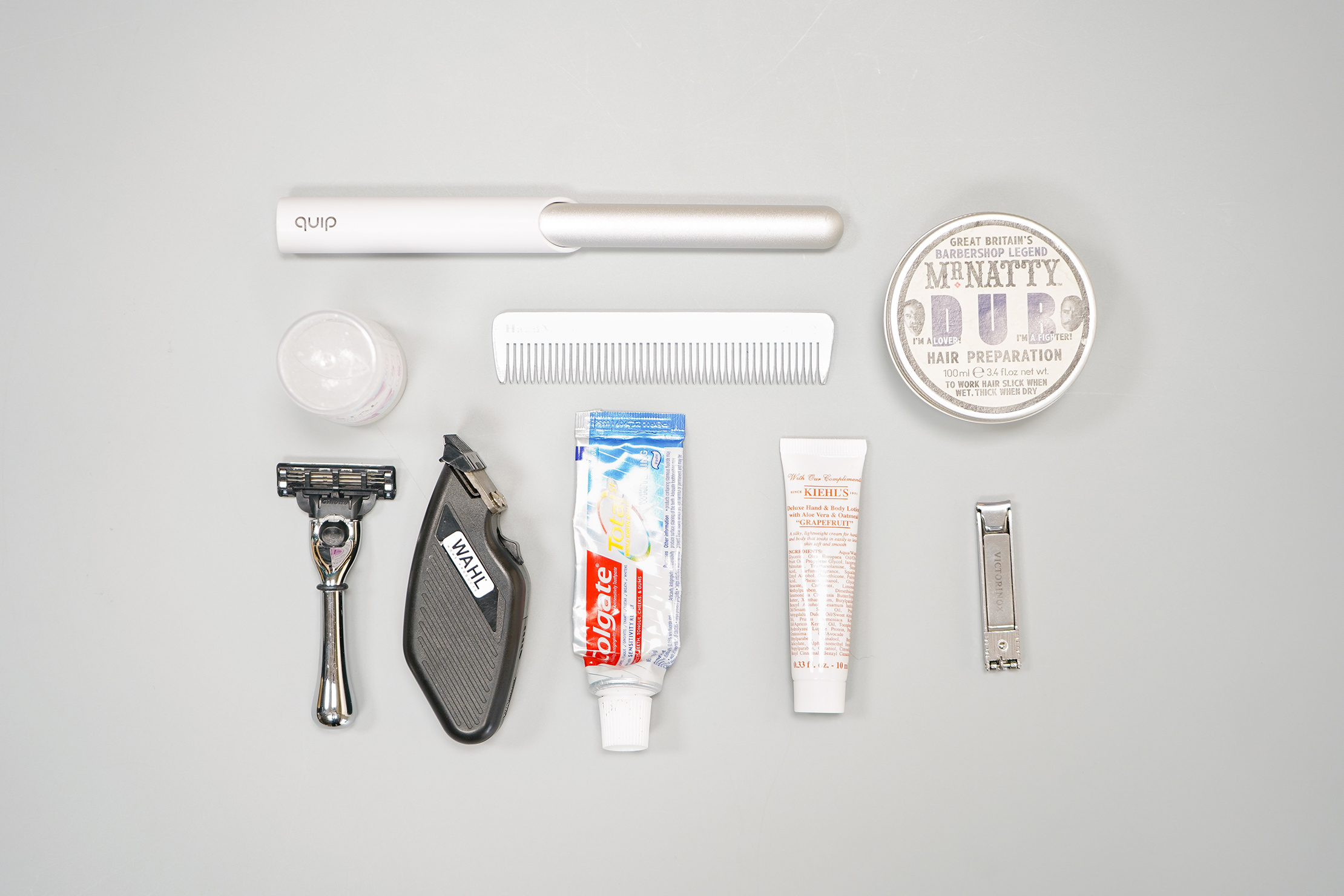 How To Pack a Carry-on Toiletries Flat Lay