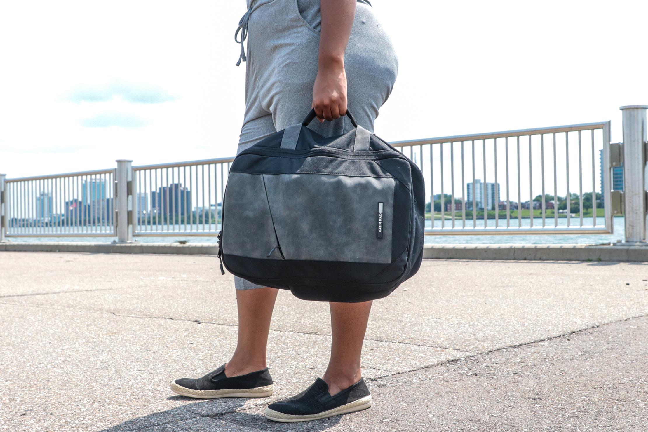 Cabin Max Manhattan Stowaway XL briefcase