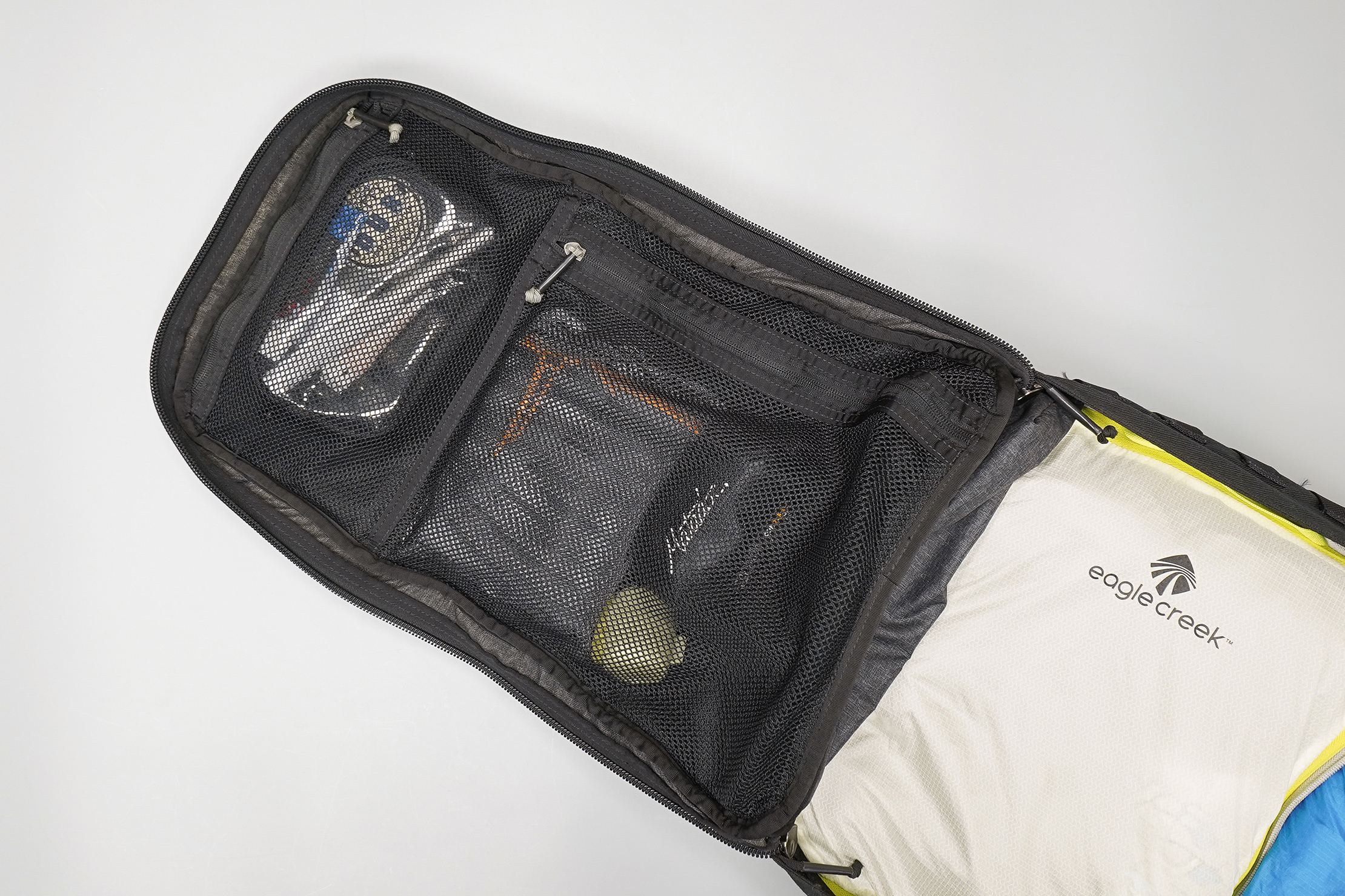 How To Pack a Carry-on Mesh Compartments
