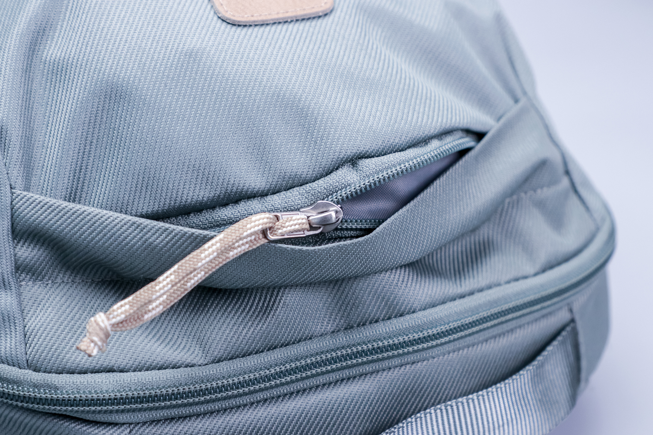 The North Face Daypack hidden top pocket